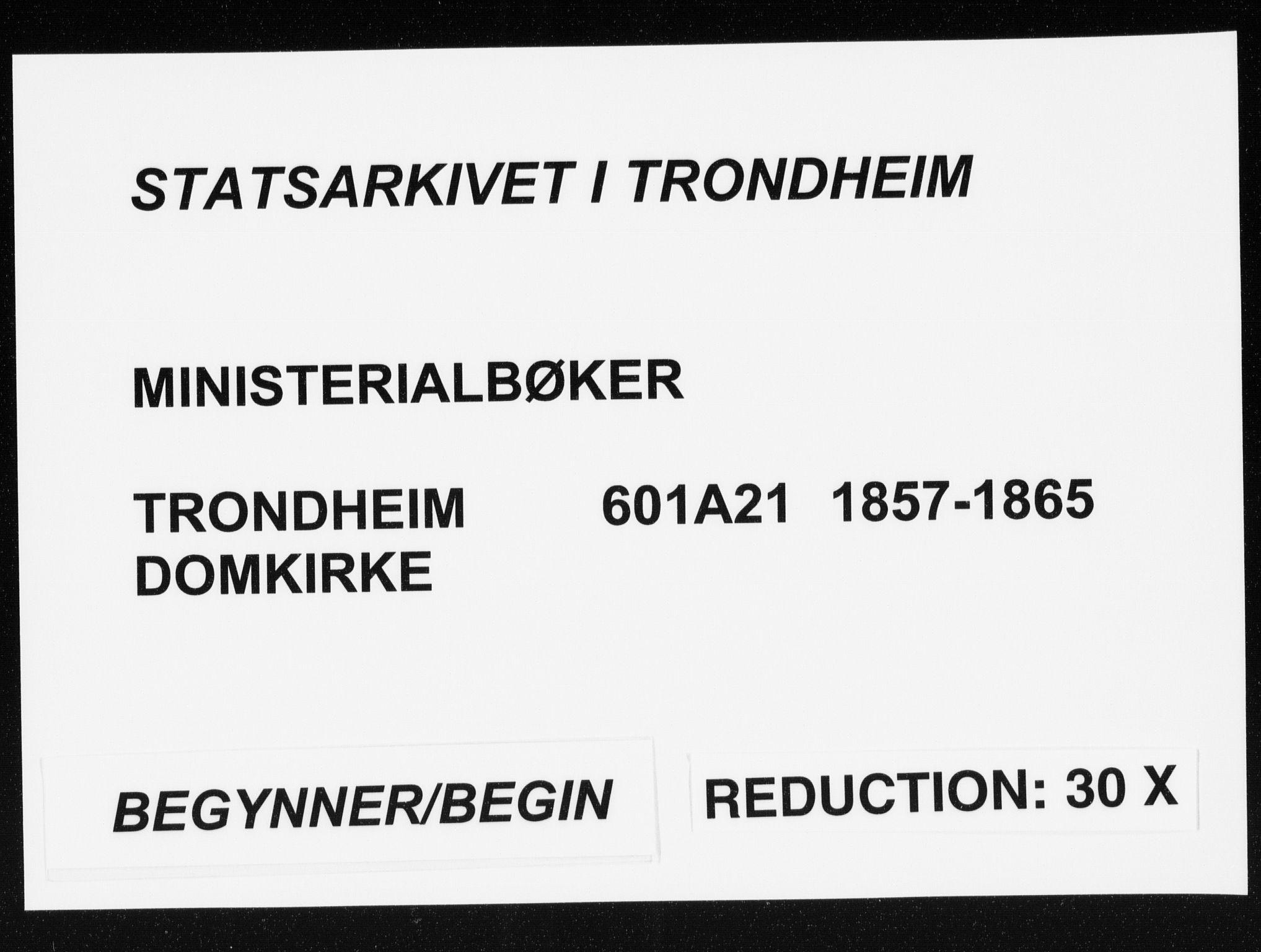 SAT, Ministerialprotokoller, klokkerbøker og fødselsregistre - Sør-Trøndelag, 601/L0053: Parish register (official) no. 601A21, 1857-1865