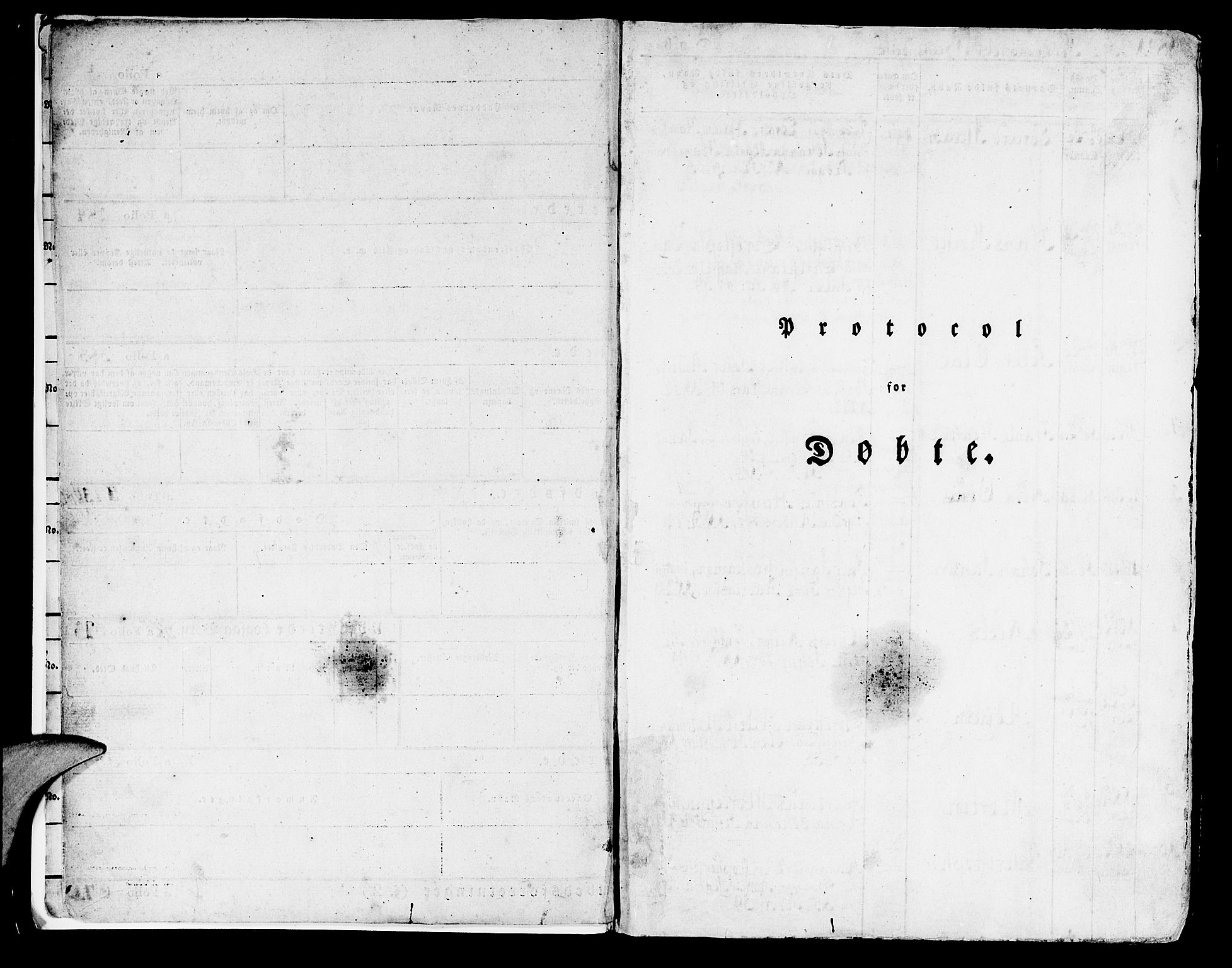 SAB, Domkirken Sokneprestembete, H/Haa/L0012: Parish register (official) no. A 12, 1821-1840