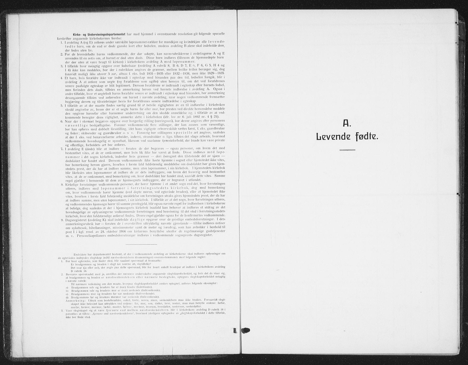 SAT, Ministerialprotokoller, klokkerbøker og fødselsregistre - Sør-Trøndelag, 668/L0820: Parish register (copy) no. 668C09, 1912-1936