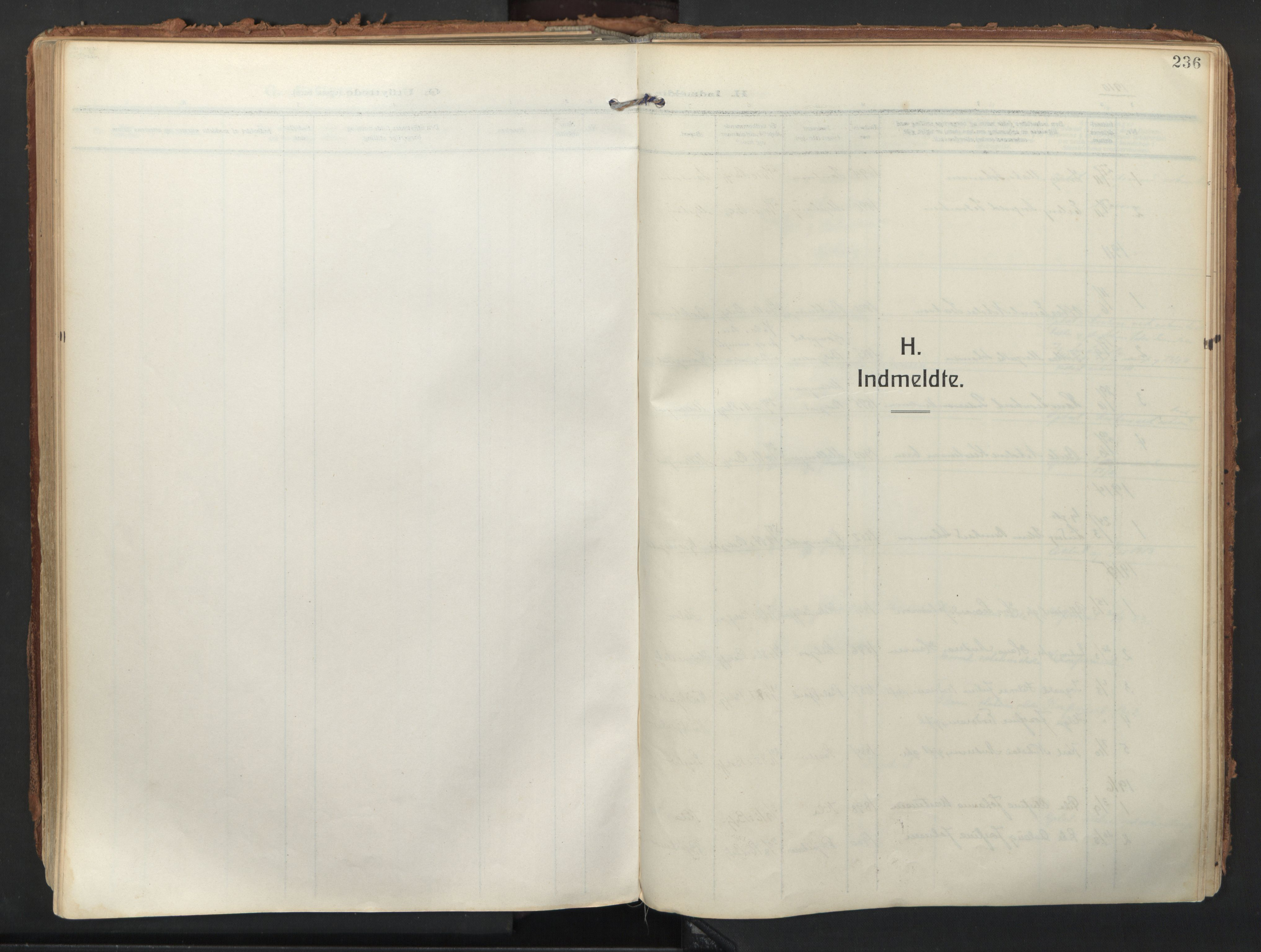 SATØ, Balsfjord sokneprestembete, Parish register (official) no. 9, 1909-1921, p. 236