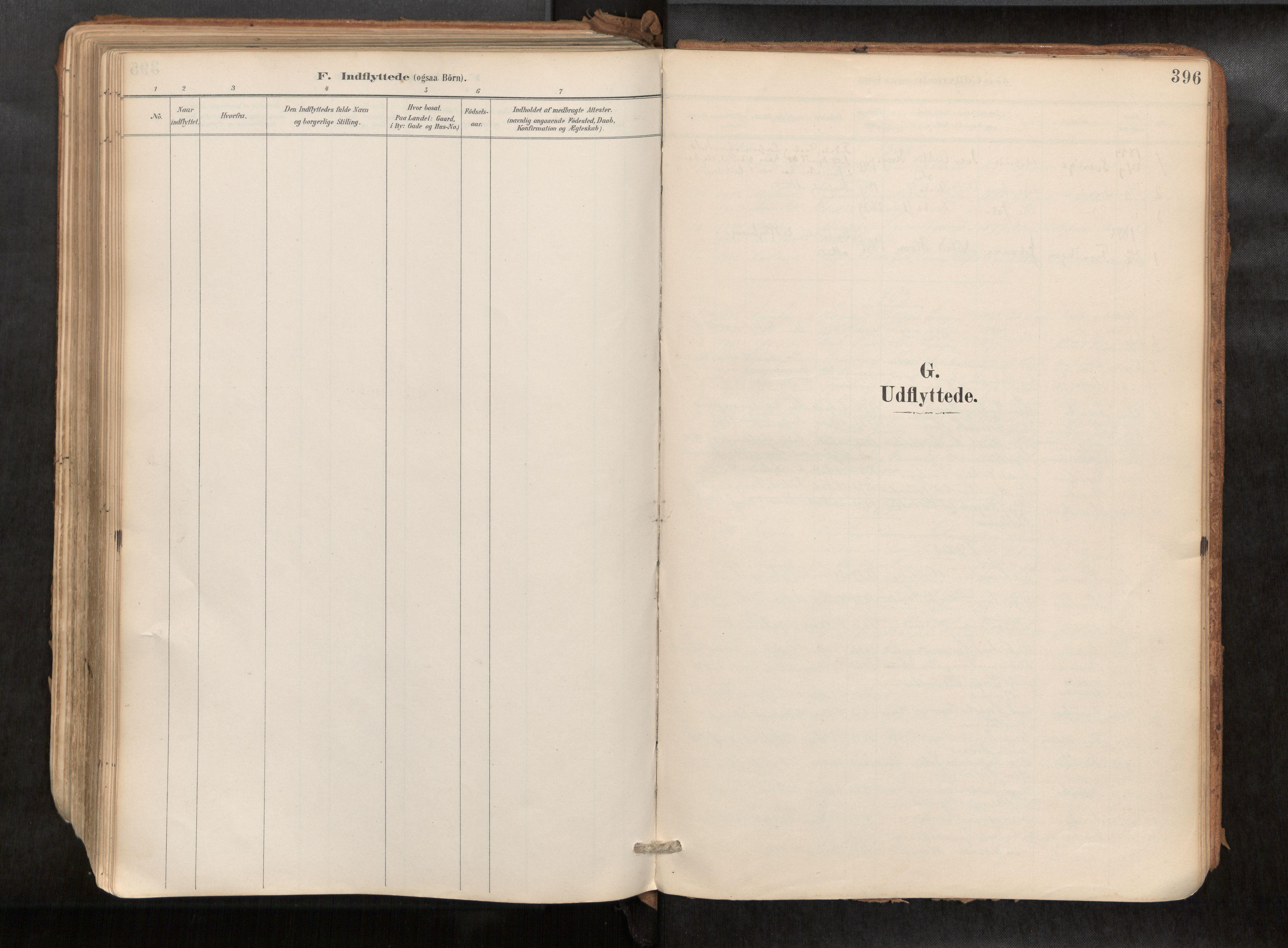 SAT, Ministerialprotokoller, klokkerbøker og fødselsregistre - Sør-Trøndelag, 692/L1105b: Parish register (official) no. 692A06, 1891-1934, p. 396