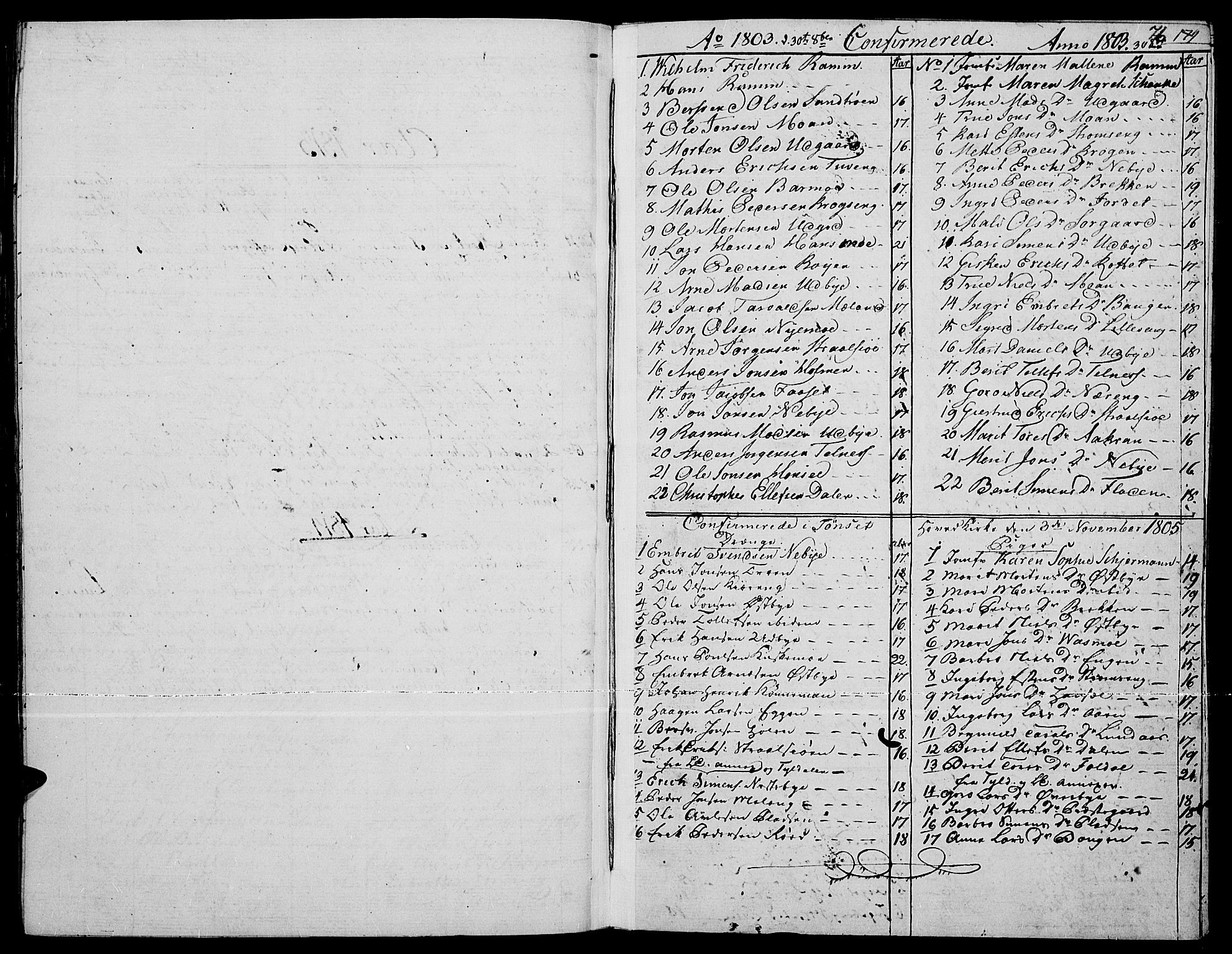 SAH, Tynset prestekontor, Parish register (official) no. 15, 1801-1814, p. 76