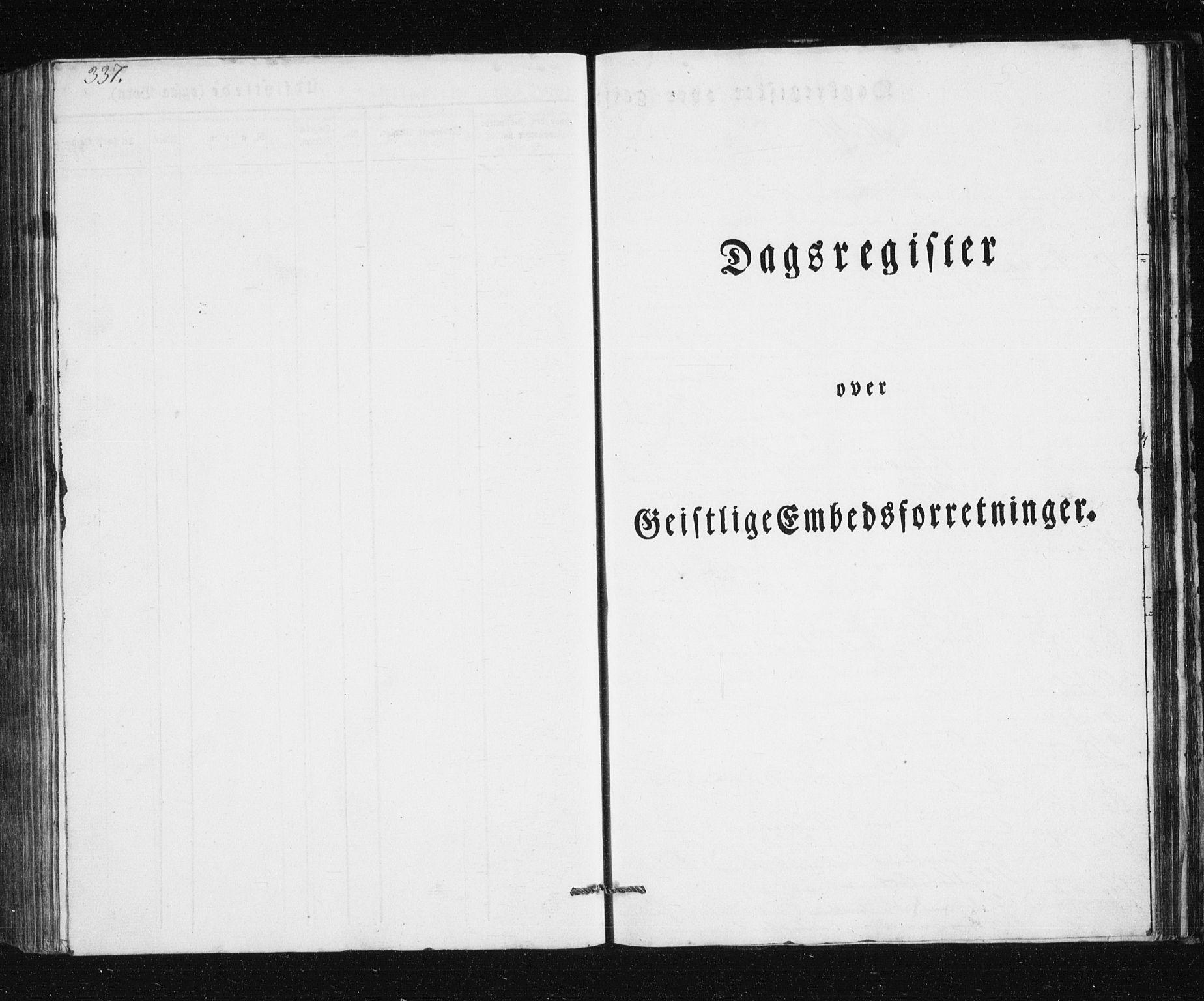 SATØ, Mefjord/Berg sokneprestkontor, G/Ga/Gab/L0011klokker: Parish register (copy) no. 11, 1833-1878, p. 337