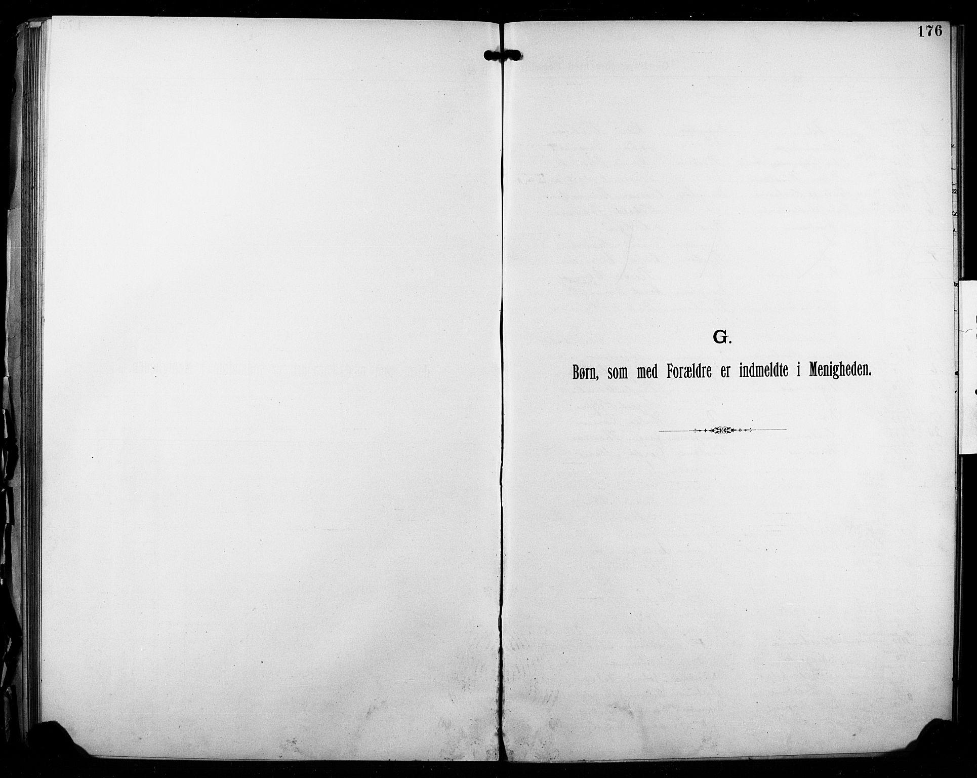 SAO, Kristi menighet Fredrikstad , A/L0001: Dissenter register no. 1, 1893-1914, p. 176