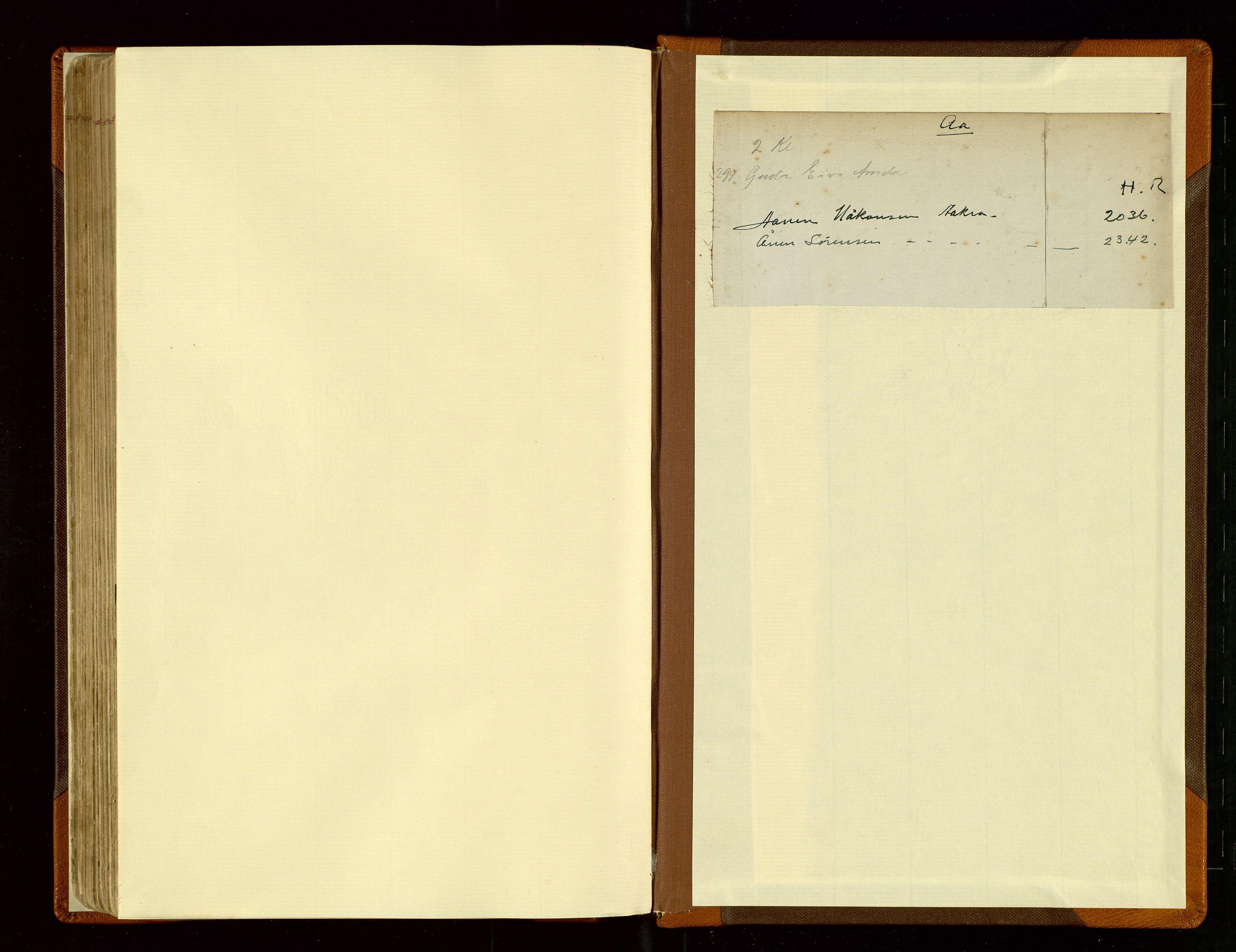 SAST, Haugesund sjømannskontor, F/Fb/Fba/L0003: Navneregister med henvisning til rullenummer (fornavn) Haugesund krets, 1860-1948
