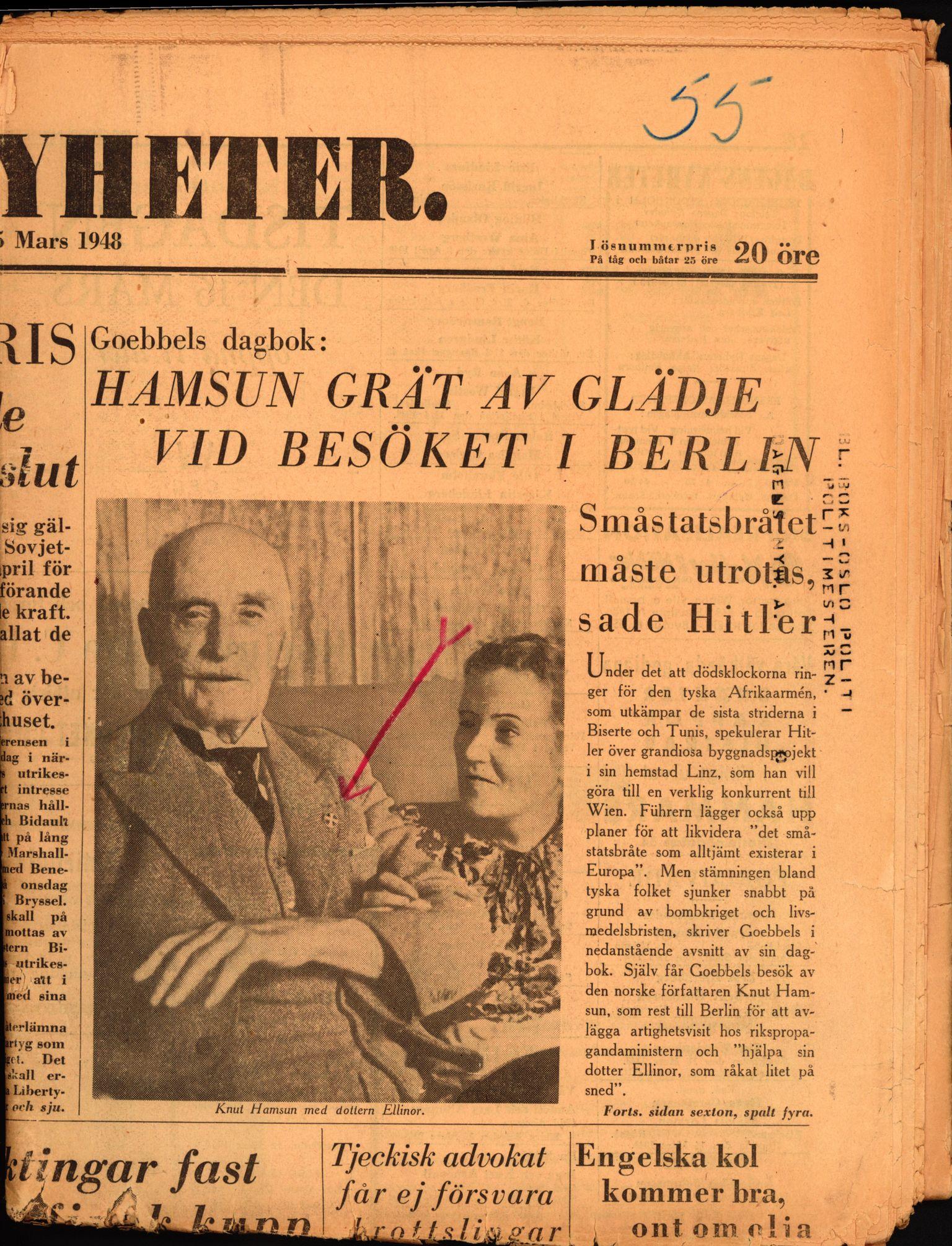 RA, Landssvikarkivet, Arendal politikammer, D/Dc/L0029: Anr. 192/45, 1945-1951, p. 596