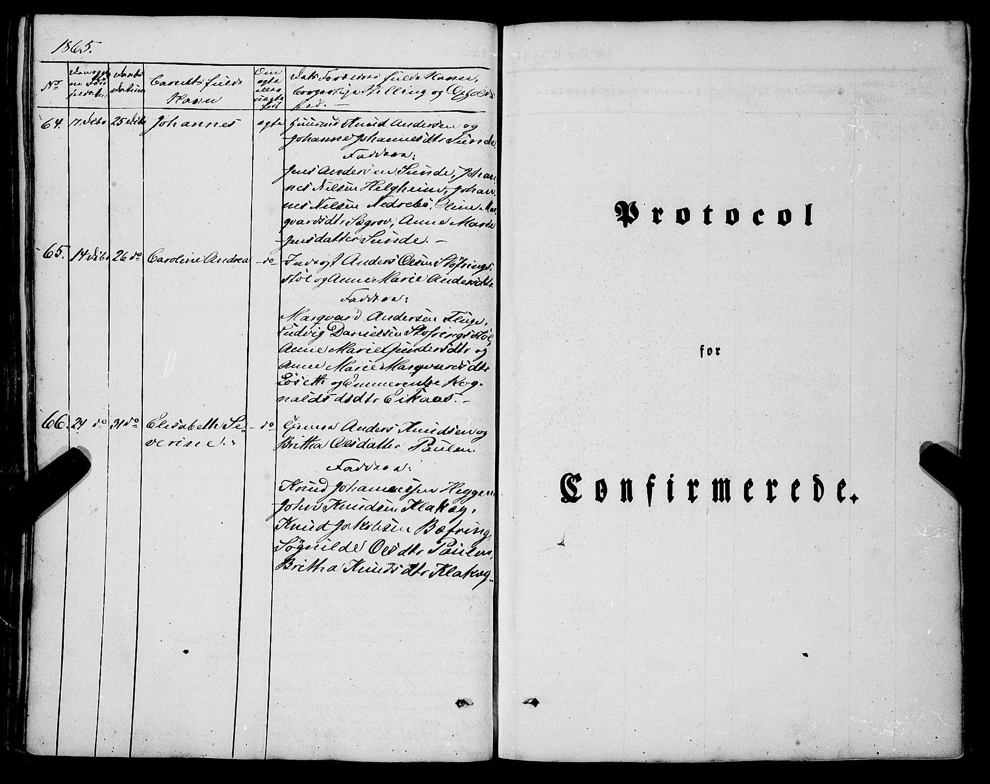 SAB, Jølster Sokneprestembete, Parish register (official) no. A 10, 1847-1865