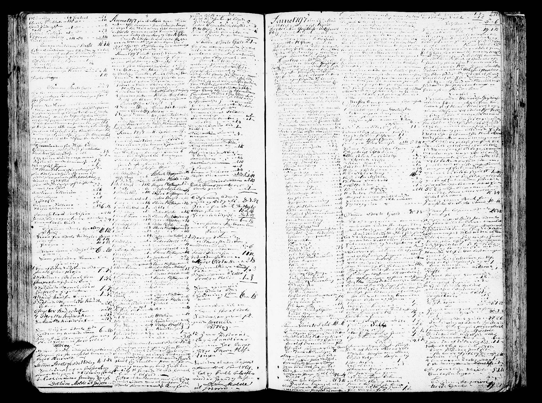 SAT, Romsdal sorenskriveri, 3/3A/L0012: Skifteprotokoll, 1789-1802, p. 270b-271a