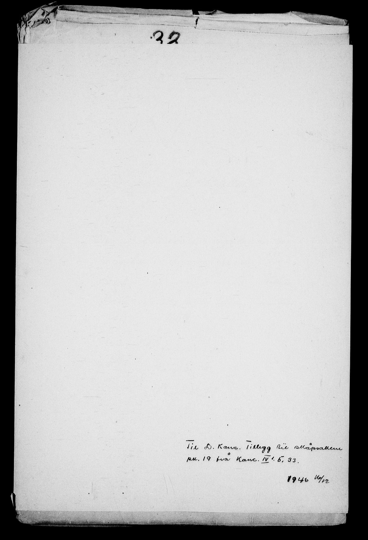 RA, Danske Kanselli, Skapsaker, G/L0019: Tillegg til skapsakene, 1616-1753, p. 173