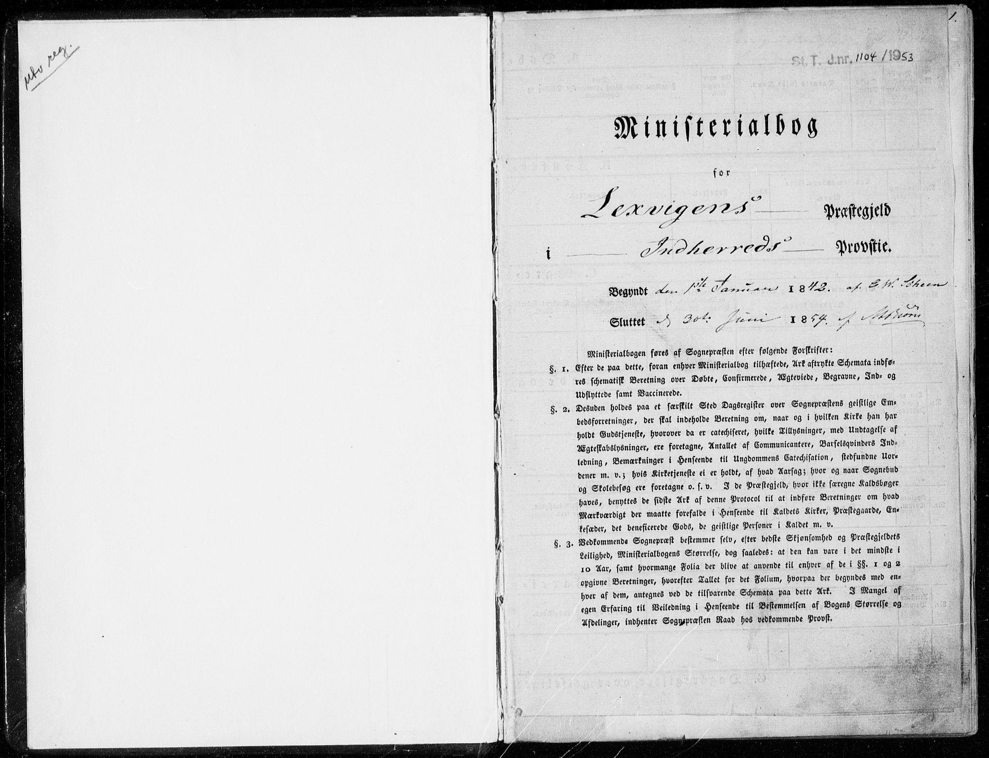 SAT, Ministerialprotokoller, klokkerbøker og fødselsregistre - Nord-Trøndelag, 701/L0007: Parish register (official) no. 701A07 /2, 1842-1854