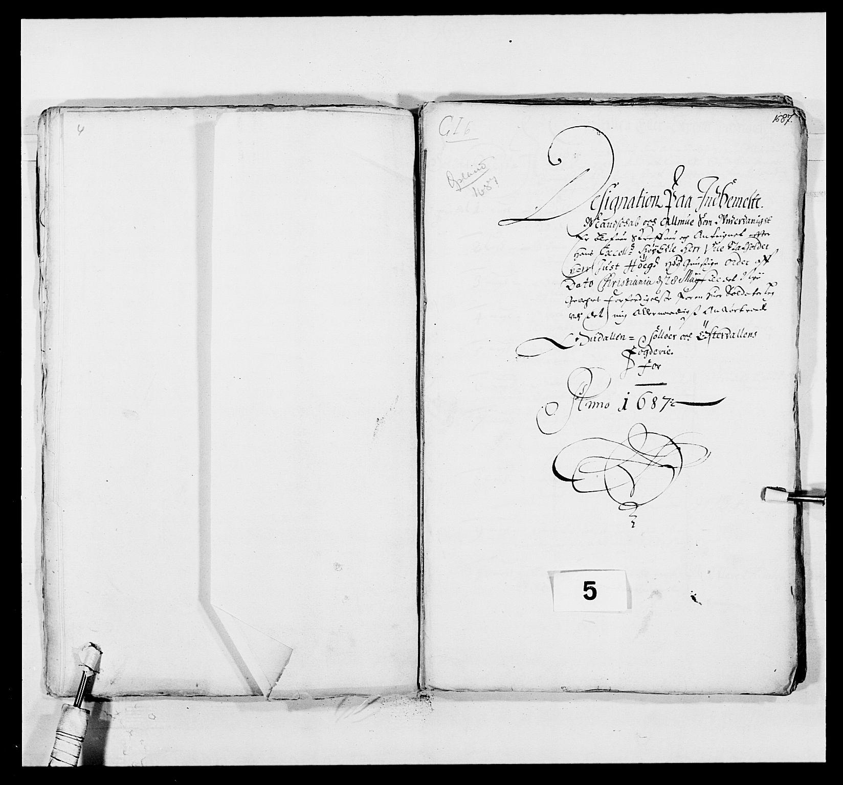 RA, Kommanderende general (KG I) med Det norske krigsdirektorium, E/Ea/L0498: Opplandske regiment, 1662-1689, p. 371