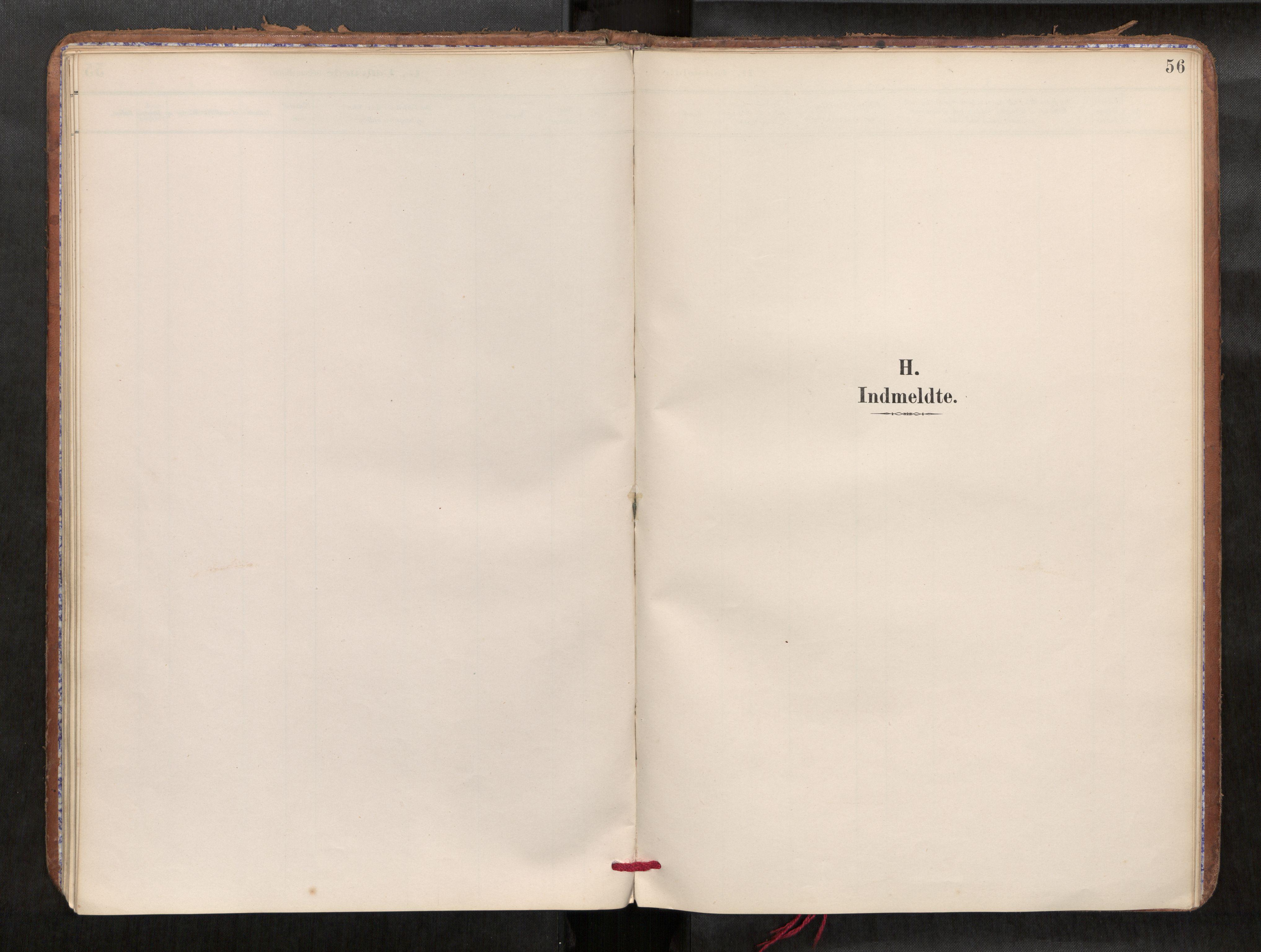 SAT, Verdal sokneprestkontor*, Parish register (official) no. 1, 1891-1907, p. 56