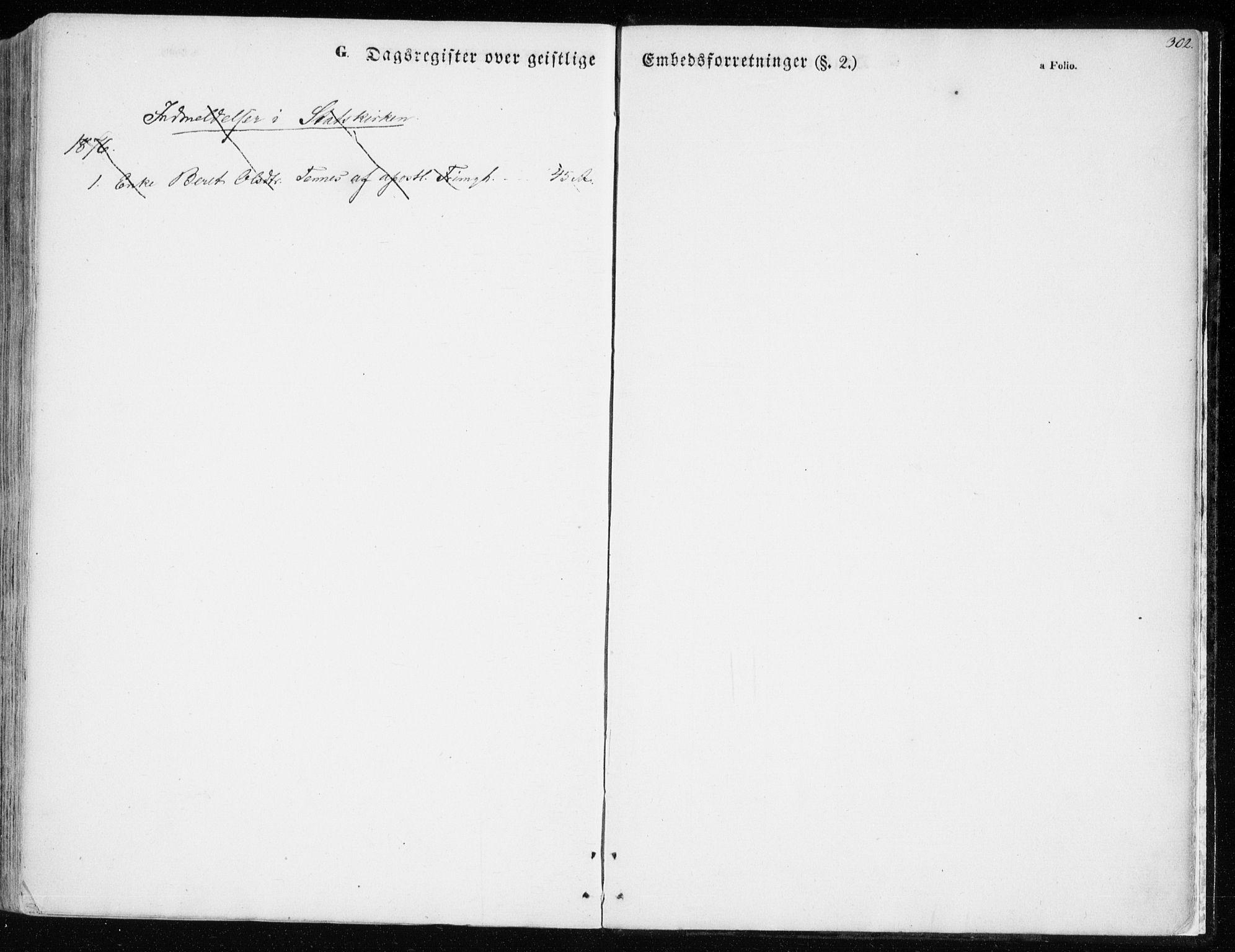 SATØ, Balsfjord sokneprestembete, Parish register (official) no. 3, 1856-1870, p. 302