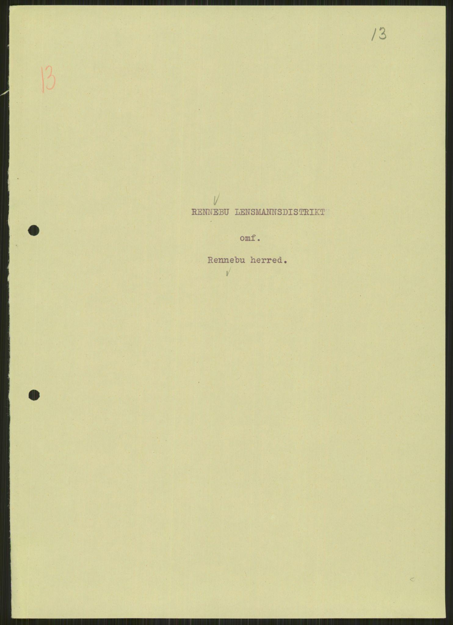 RA, Forsvaret, Forsvarets krigshistoriske avdeling, Y/Ya/L0016: II-C-11-31 - Fylkesmenn.  Rapporter om krigsbegivenhetene 1940., 1940, p. 88