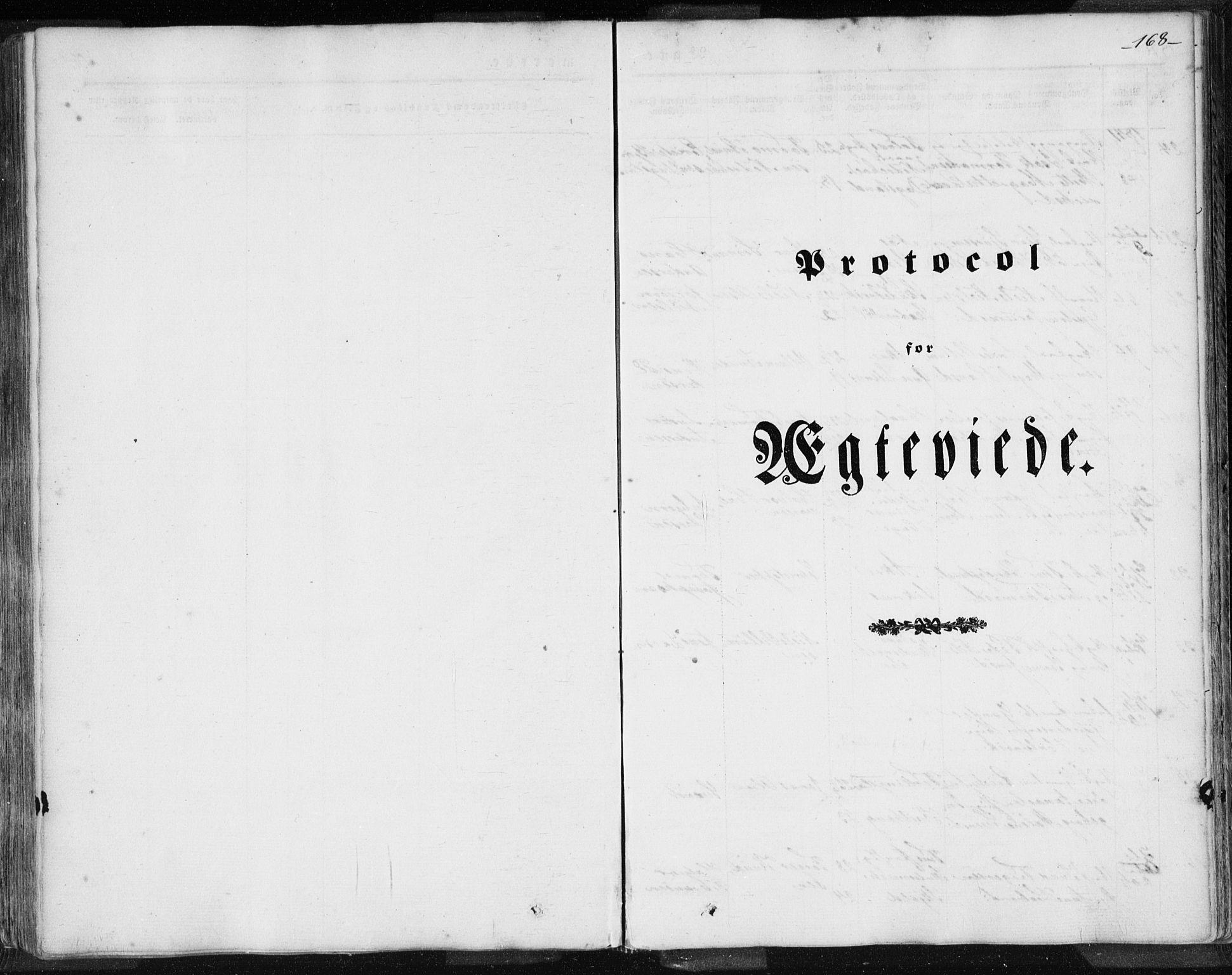 SAST, Skudenes sokneprestkontor, H/Ha/Haa/L0002: Parish register (official) no. A 2.1, 1841-1846, p. 168