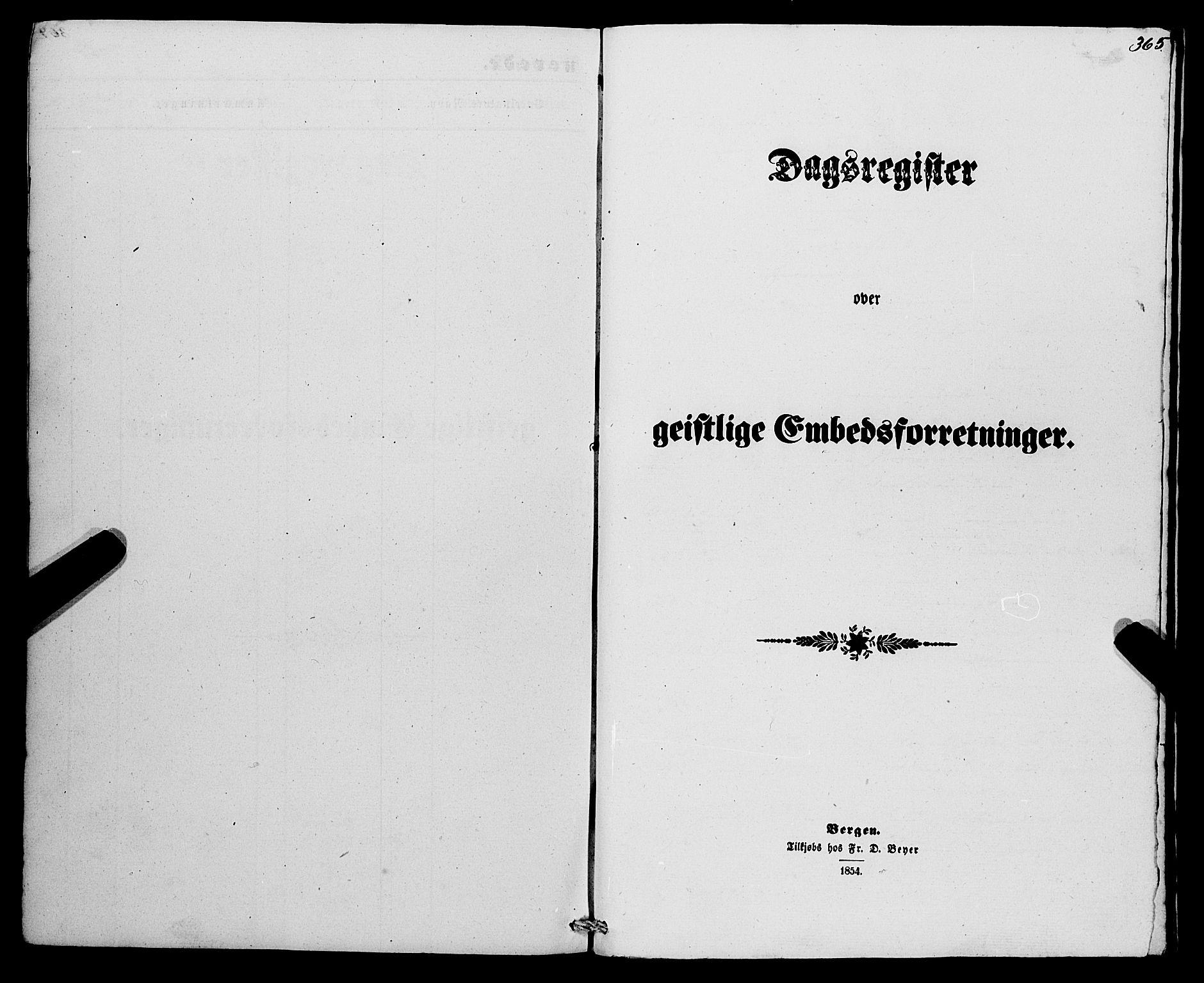 SAB, Eid Sokneprestembete, H/Haa: Parish register (official) no. A 8, 1858-1860, p. 365