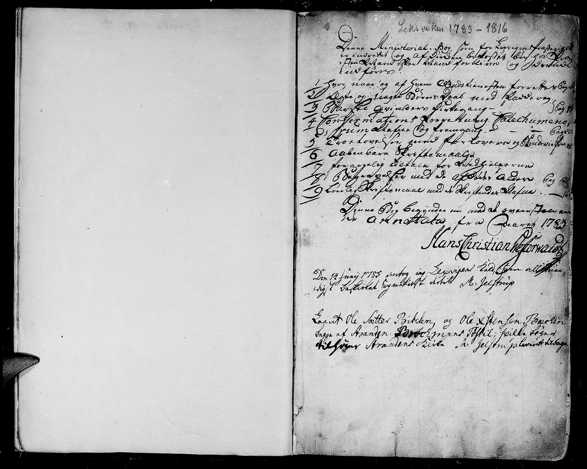 SAT, Ministerialprotokoller, klokkerbøker og fødselsregistre - Nord-Trøndelag, 701/L0004: Parish register (official) no. 701A04, 1783-1816