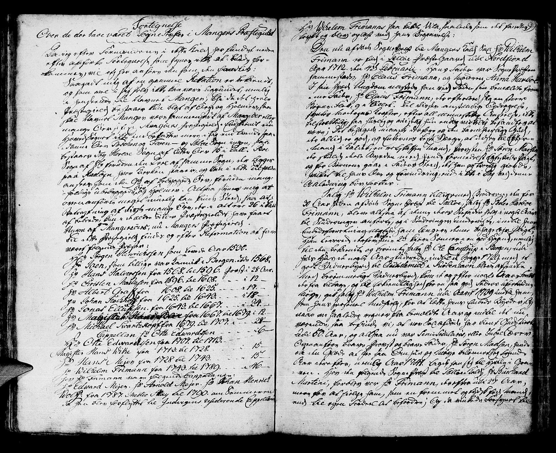 SAB, Manger sokneprestembete, H/Haa: Parish register (official) no. A 2, 1792-1815, p. 154