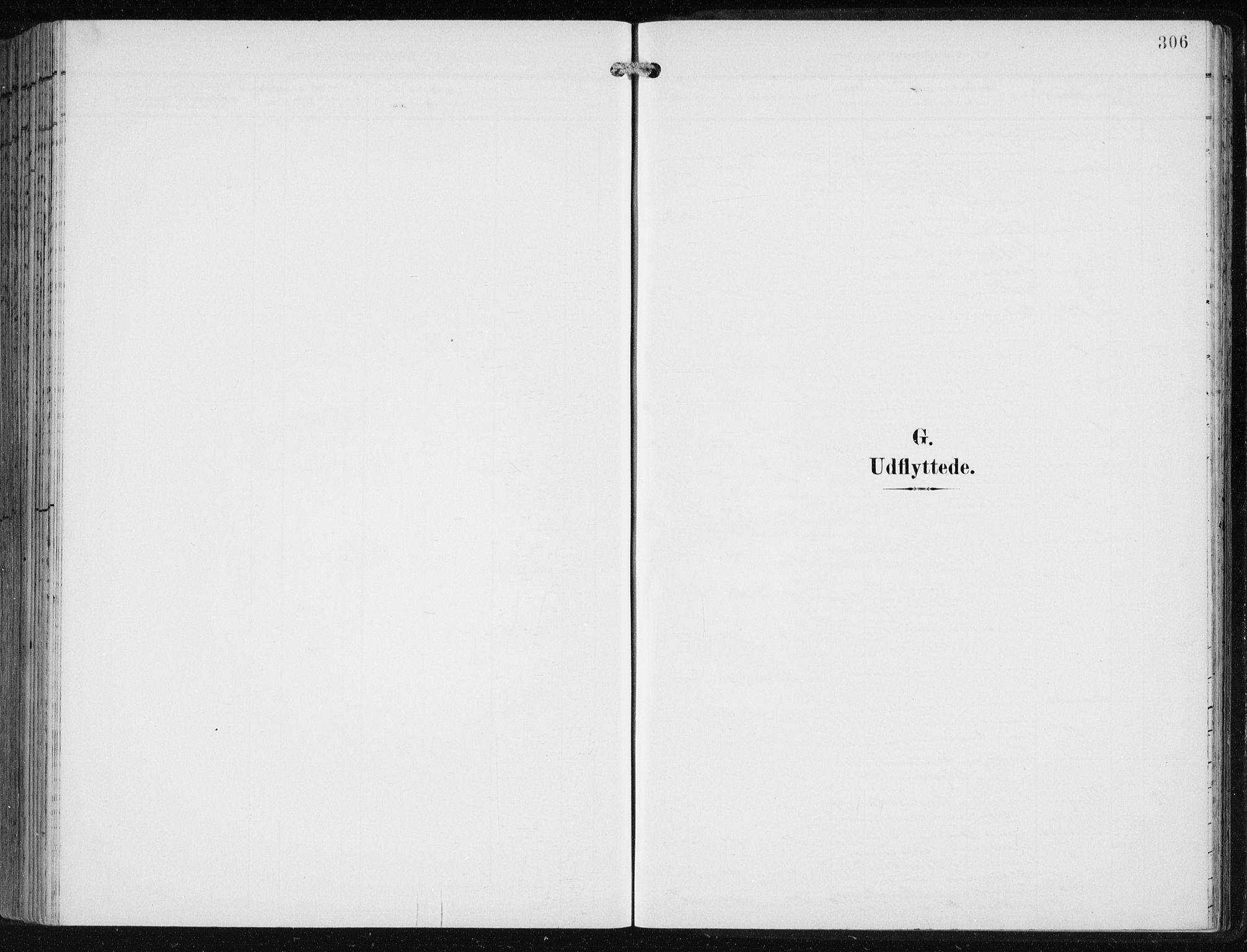 SAB, Fjell sokneprestembete, H/Haa: Parish register (official) no. A  9, 1899-1910, p. 306