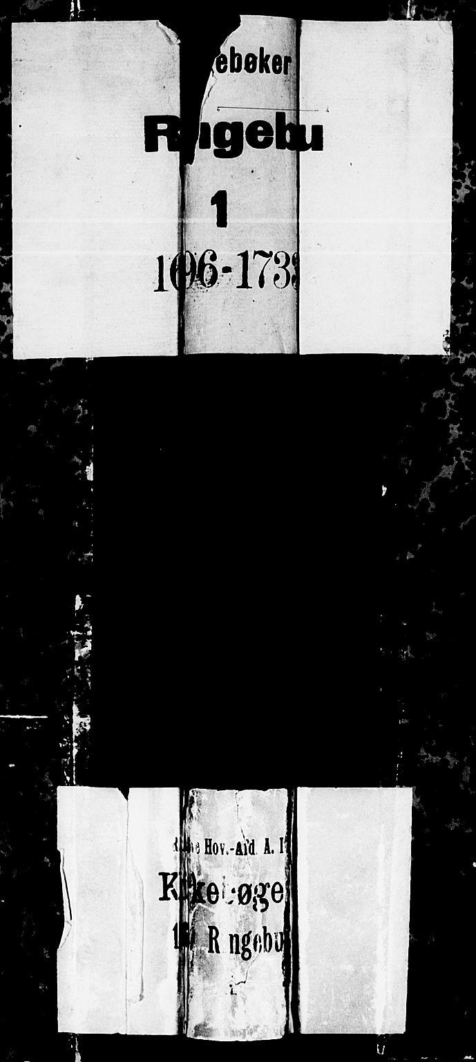 SAH, Ringebu prestekontor, Parish register (official) no. 1, 1696-1733
