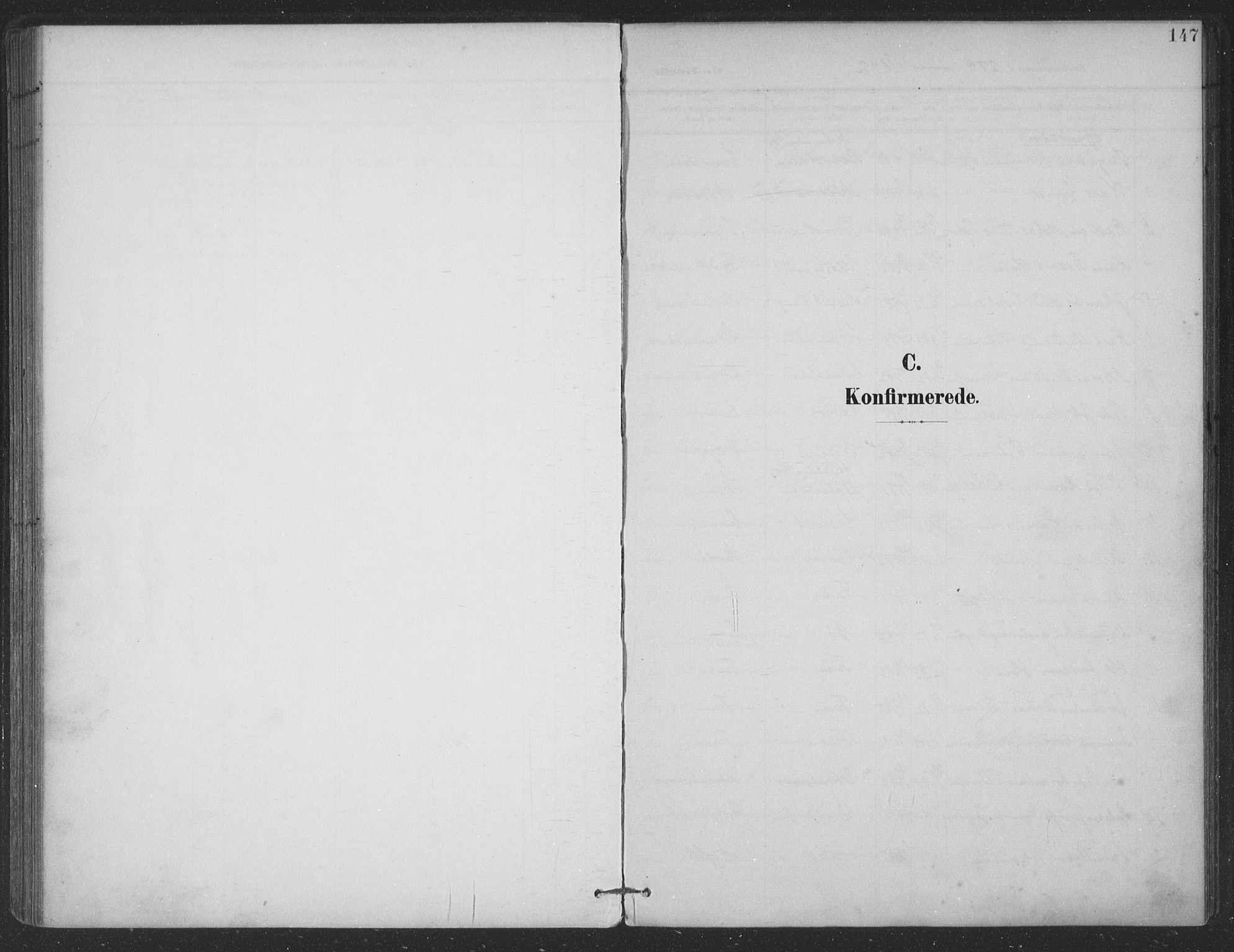 SAT, Ministerialprotokoller, klokkerbøker og fødselsregistre - Nordland, 863/L0899: Parish register (official) no. 863A11, 1897-1906, p. 147