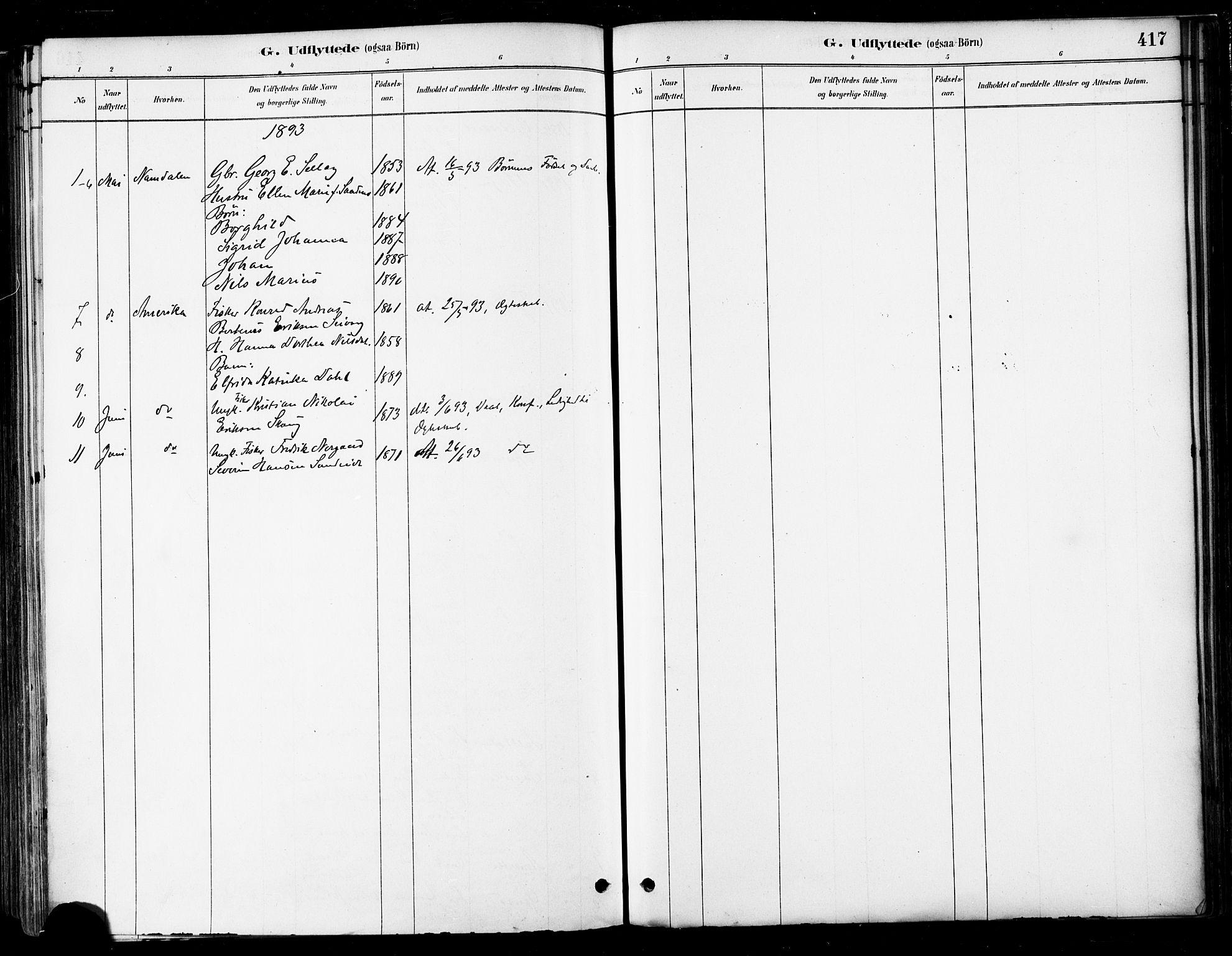 SAT, Ministerialprotokoller, klokkerbøker og fødselsregistre - Nordland, 802/L0054: Parish register (official) no. 802A01, 1879-1893, p. 417