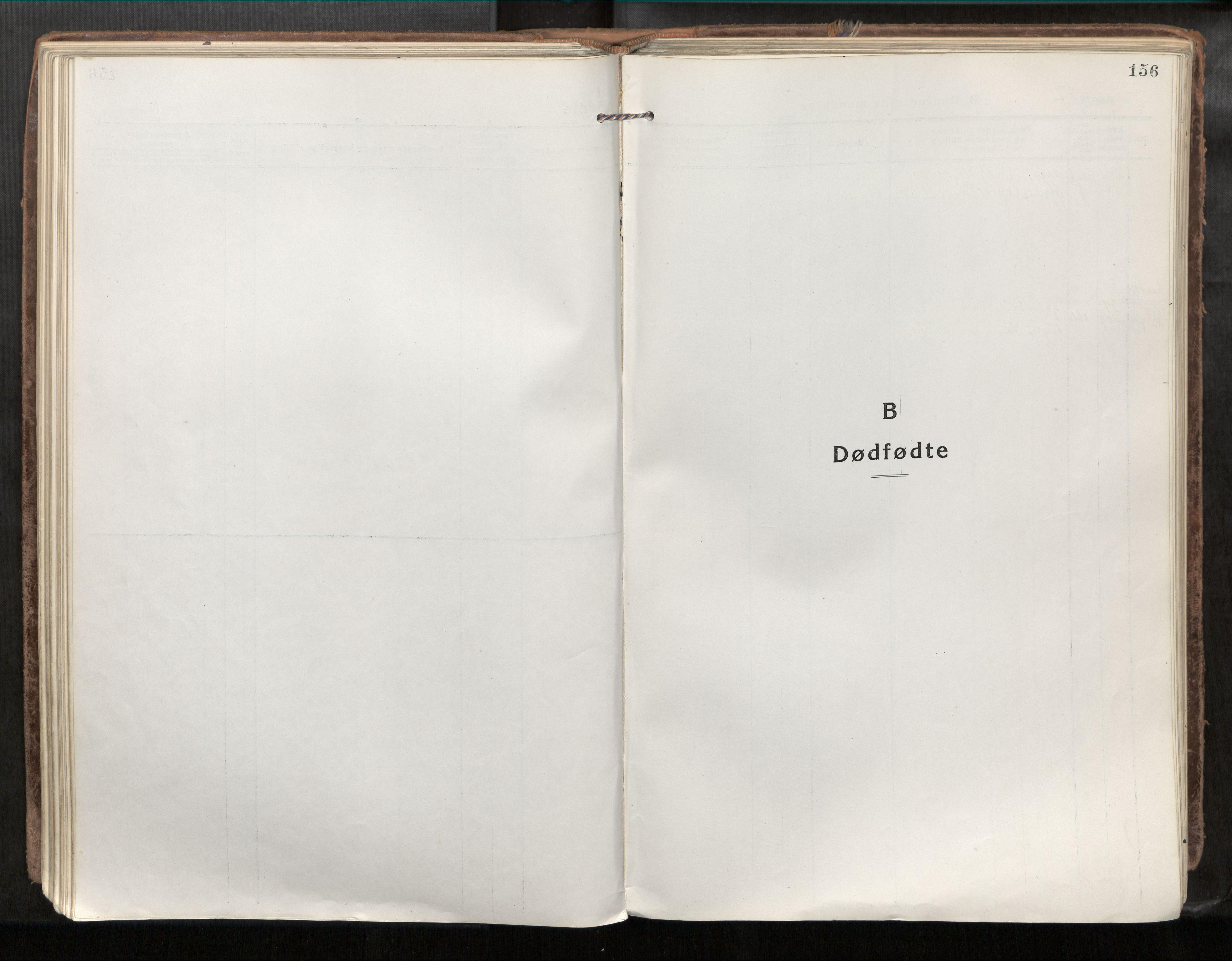SAT, Verdal sokneprestkontor*, Parish register (official) no. 1, 1917-1932, p. 156