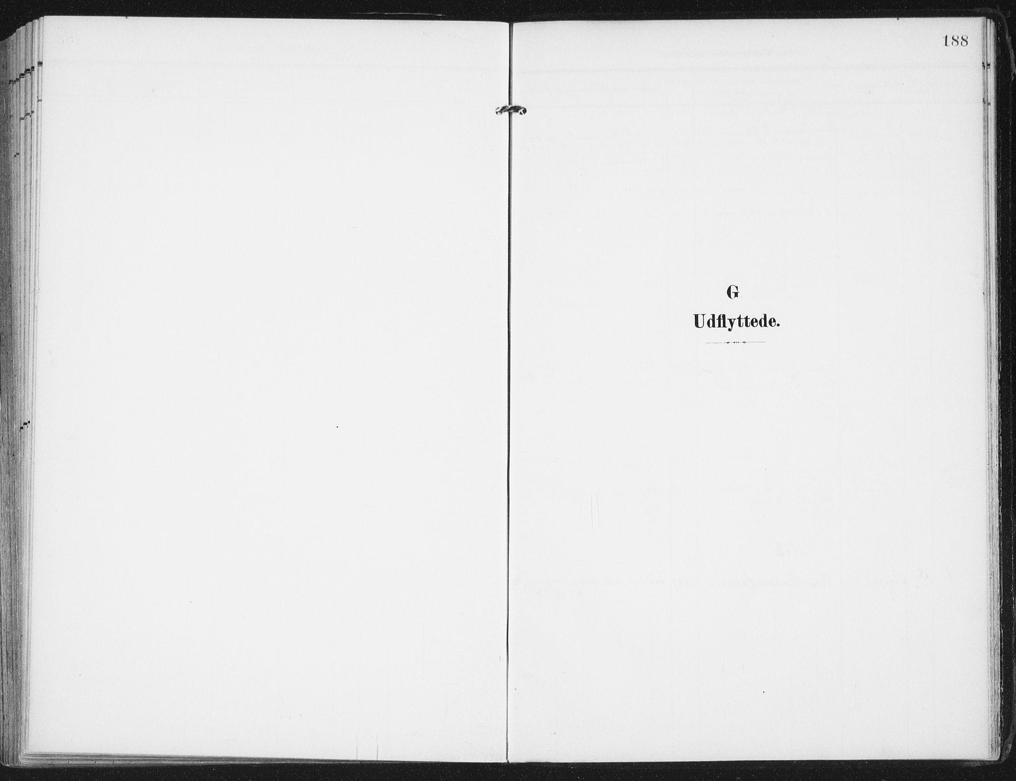 SAT, Ministerialprotokoller, klokkerbøker og fødselsregistre - Nordland, 892/L1321: Parish register (official) no. 892A02, 1902-1918, p. 188
