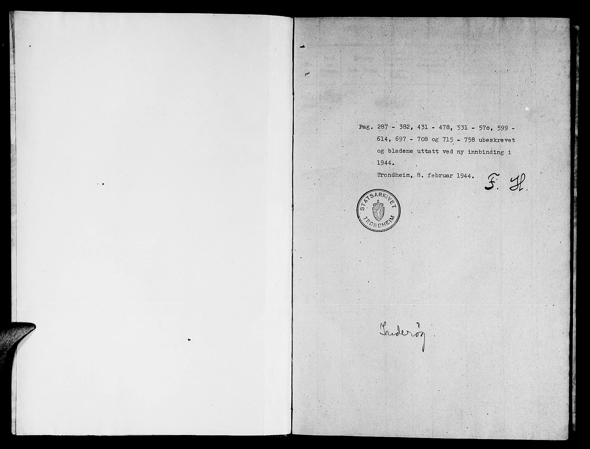 SAT, Ministerialprotokoller, klokkerbøker og fødselsregistre - Nord-Trøndelag, 731/L0310: Parish register (copy) no. 731C01, 1816-1874