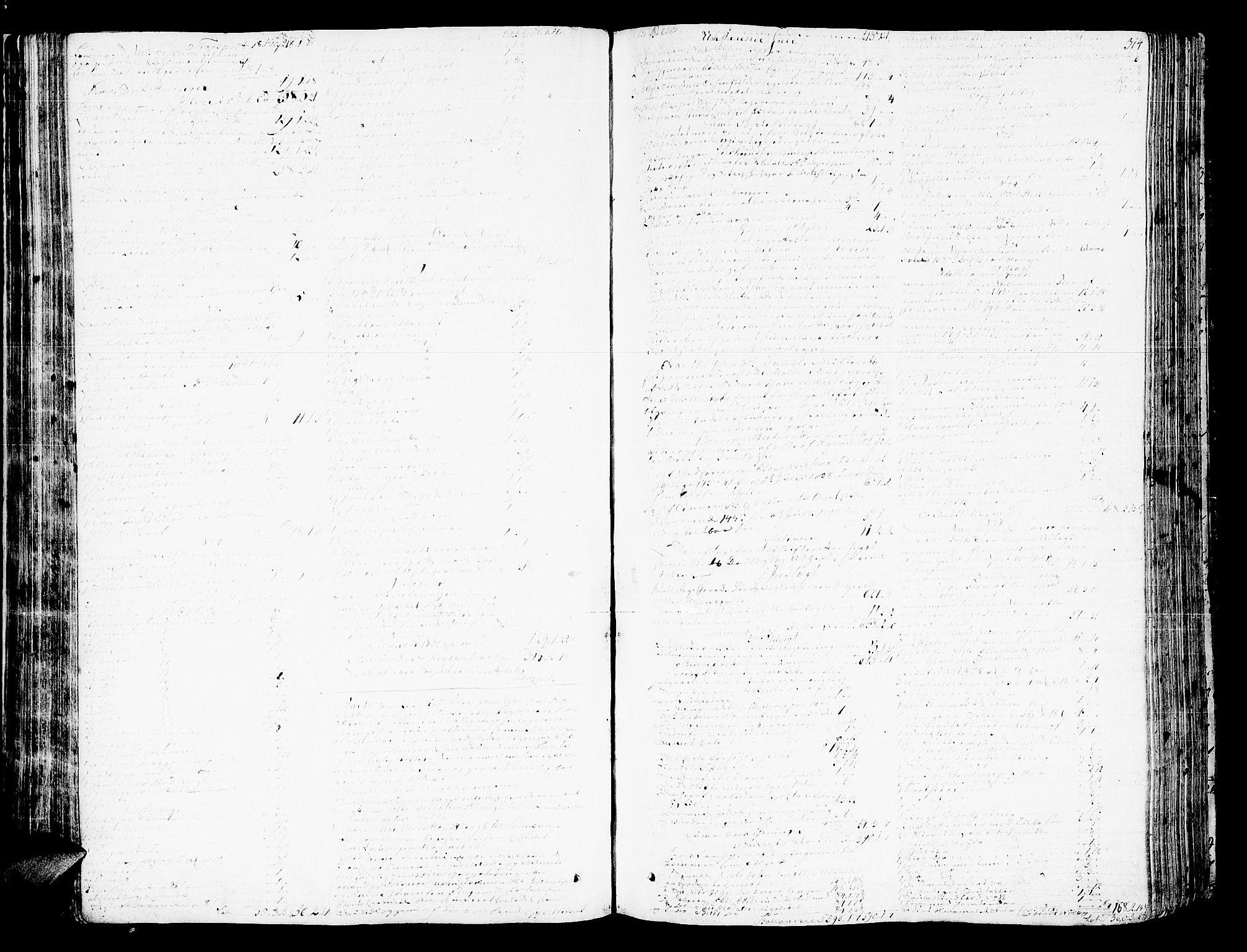 SAT, Romsdal sorenskriveri, 3/3A/L0013: Skifteprotokoll, 1802-1812, p. 313b-314a