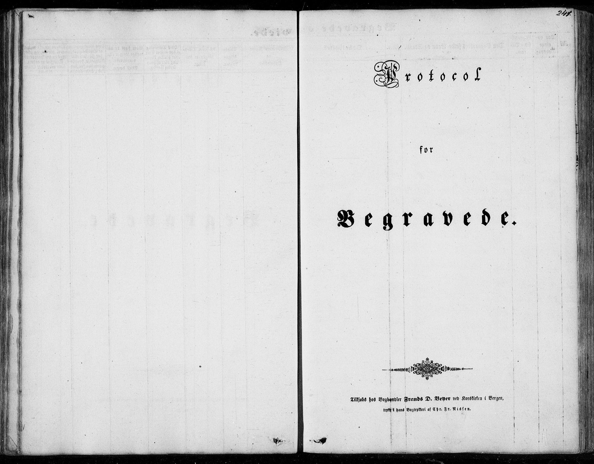 SAB, Os sokneprestembete*, Parish register (official) no. A 16, 1851-1859, p. 241