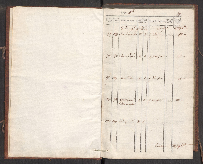 RA, Kommersekollegiet, Brannforsikringskontoret 1767-1814, F/Fa/L0007: Bergen, 1807-1817, p. 577