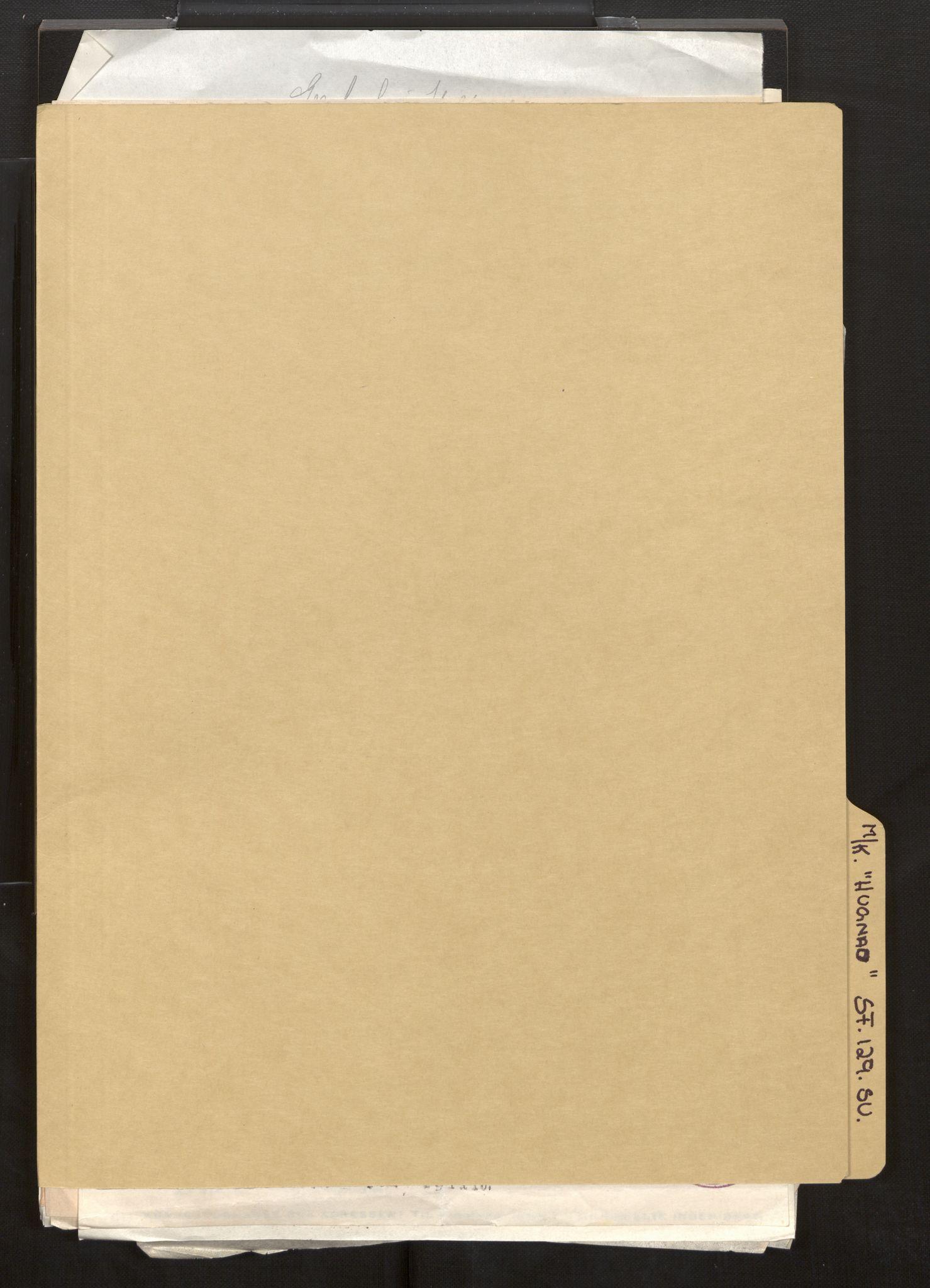 SAB, Fiskeridirektoratet - 1 Adm. ledelse - 13 Båtkontoret, La/L0042: Statens krigsforsikring for fiskeflåten, 1936-1971, p. 349