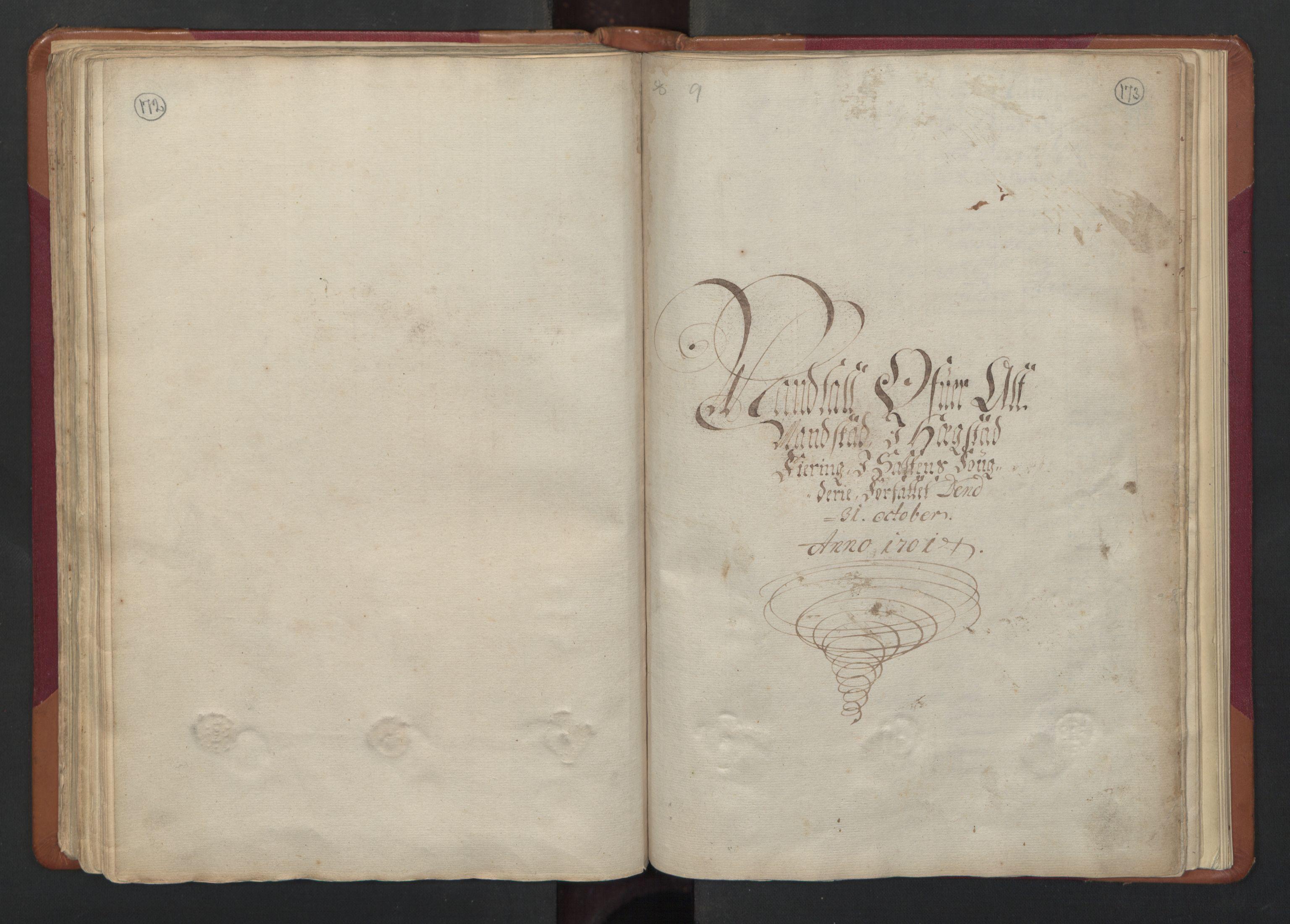 RA, Census (manntall) 1701, no. 17: Salten fogderi, 1701, p. 172-173