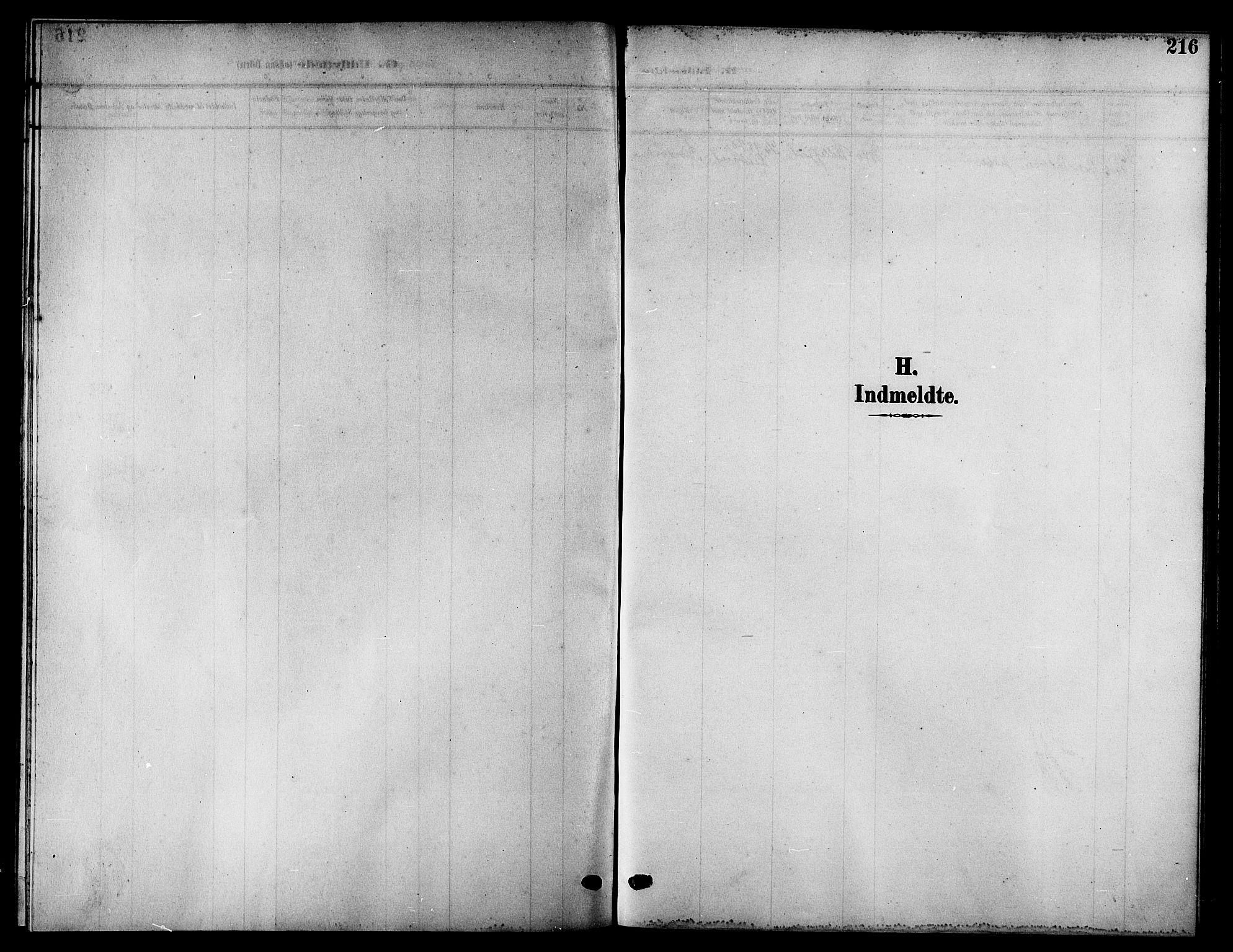 SATØ, Kistrand/Porsanger sokneprestembete, H/Hb/L0006.klokk: Parish register (copy) no. 6, 1905-1917, p. 216