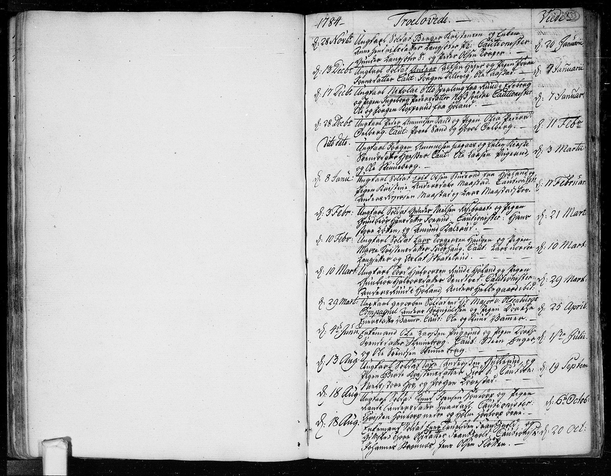 SAO, Trøgstad prestekontor Kirkebøker, F/Fa/L0005: Parish register (official) no. I 5, 1784-1814, p. 133