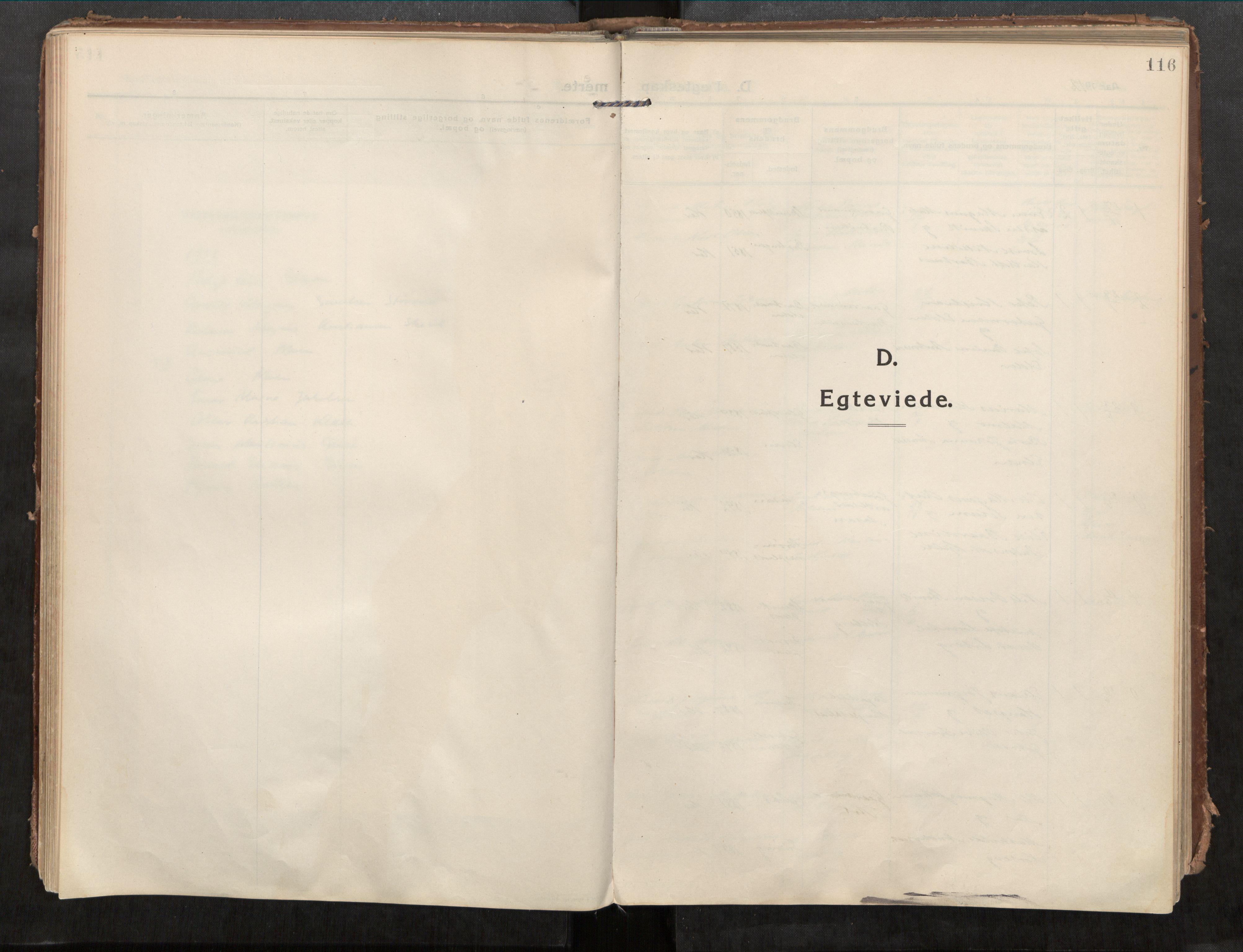 SAT, Beitstad sokneprestkontor, I/I1/I1a/L0001: Parish register (official) no. 1, 1912-1927, p. 116