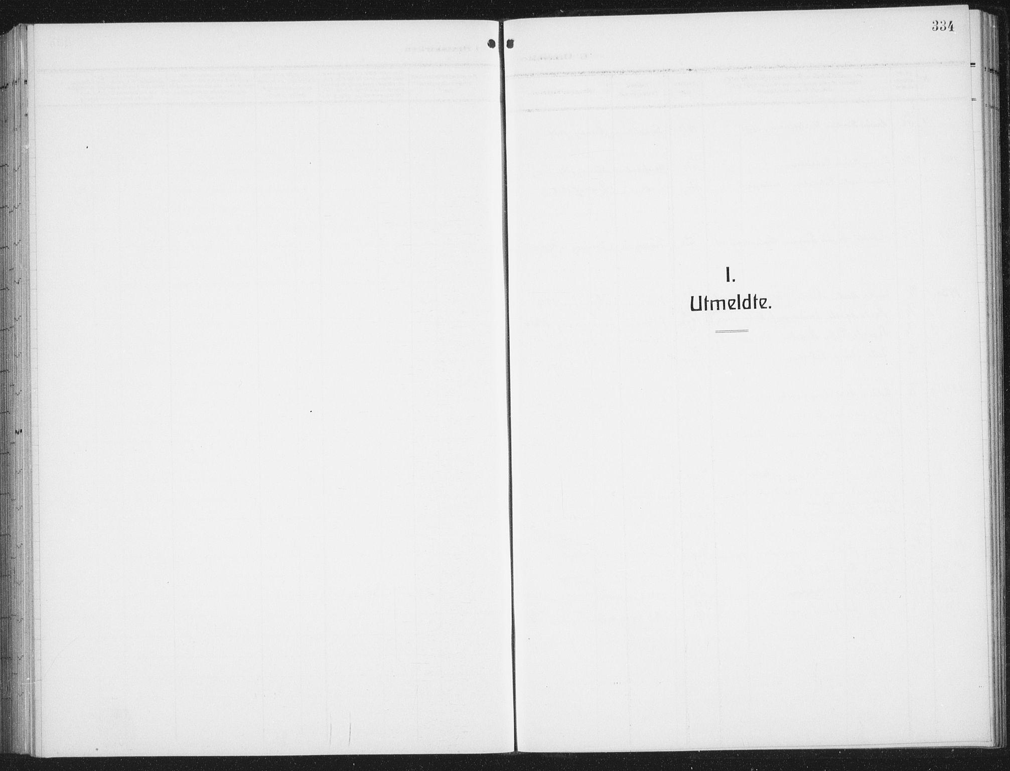 SAT, Ministerialprotokoller, klokkerbøker og fødselsregistre - Nordland, 876/L1106: Parish register (copy) no. 876C05, 1915-1942, p. 334