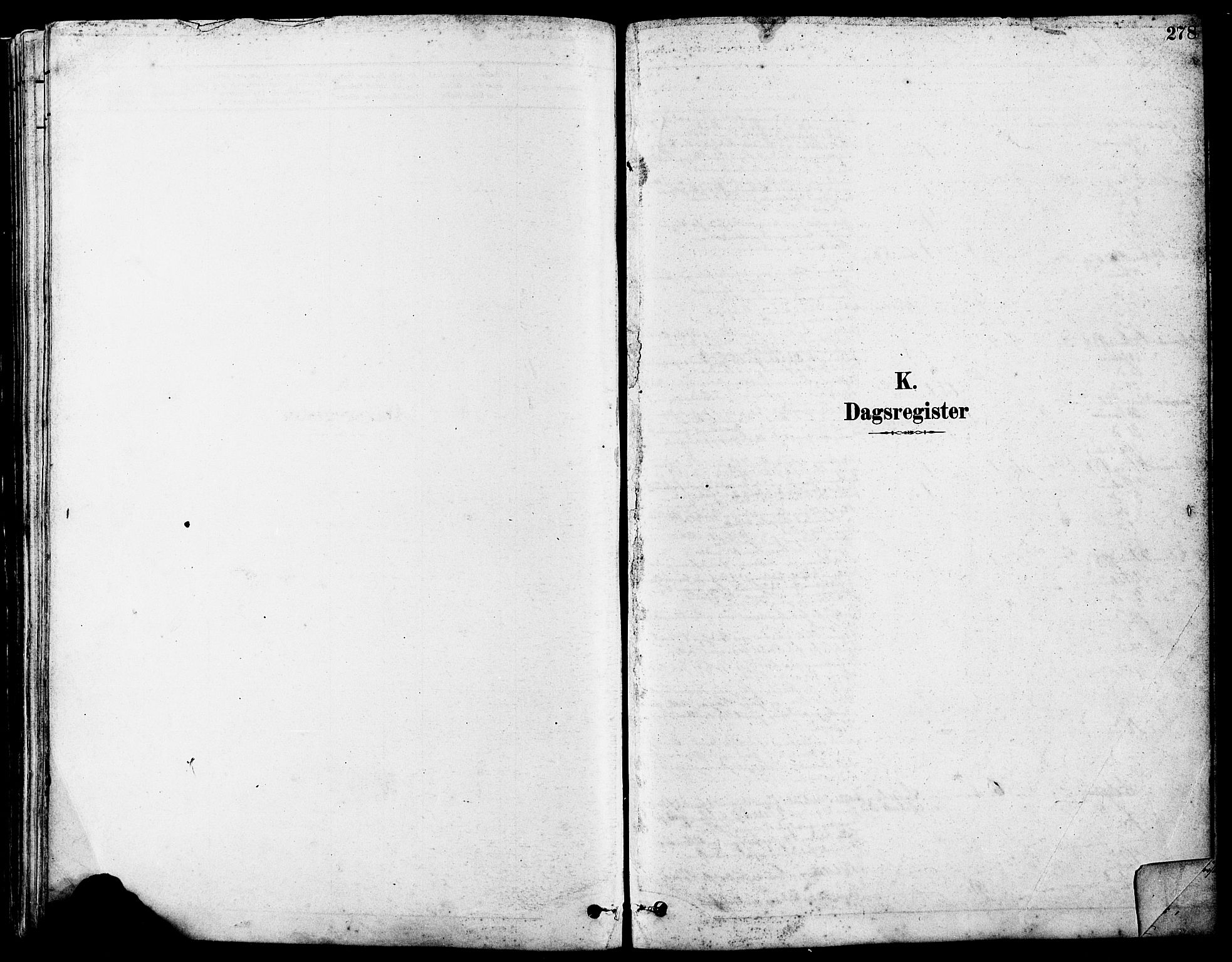 SAST, Høyland sokneprestkontor, 30BA/L0011: Parish register (official) no. A 10, 1878-1888, p. 278