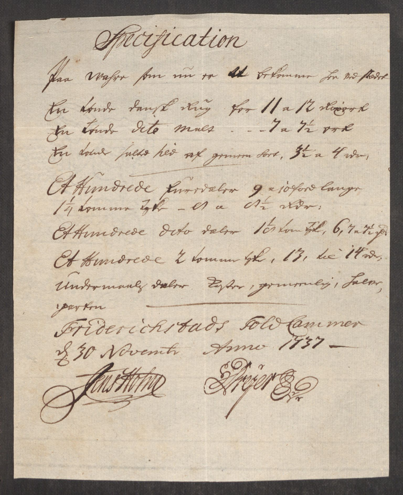 RA, Rentekammeret inntil 1814, Realistisk ordnet avdeling, Oe/L0001: [Ø1]: Priskuranter, 1712-1739, p. 460
