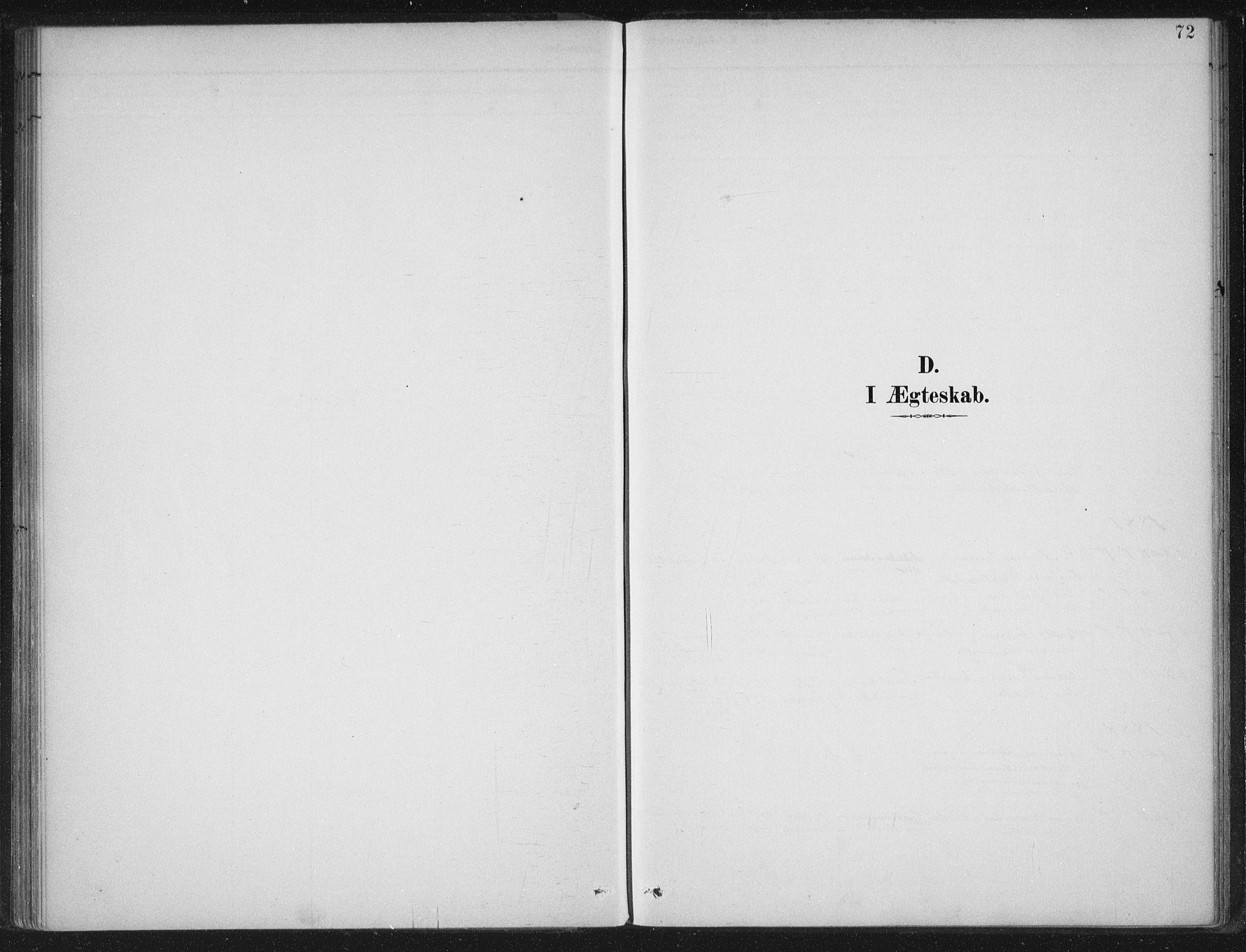 SAB, Gloppen Sokneprestembete, H/Haa/Haad/L0001: Parish register (official) no. D  1, 1885-1910, p. 72
