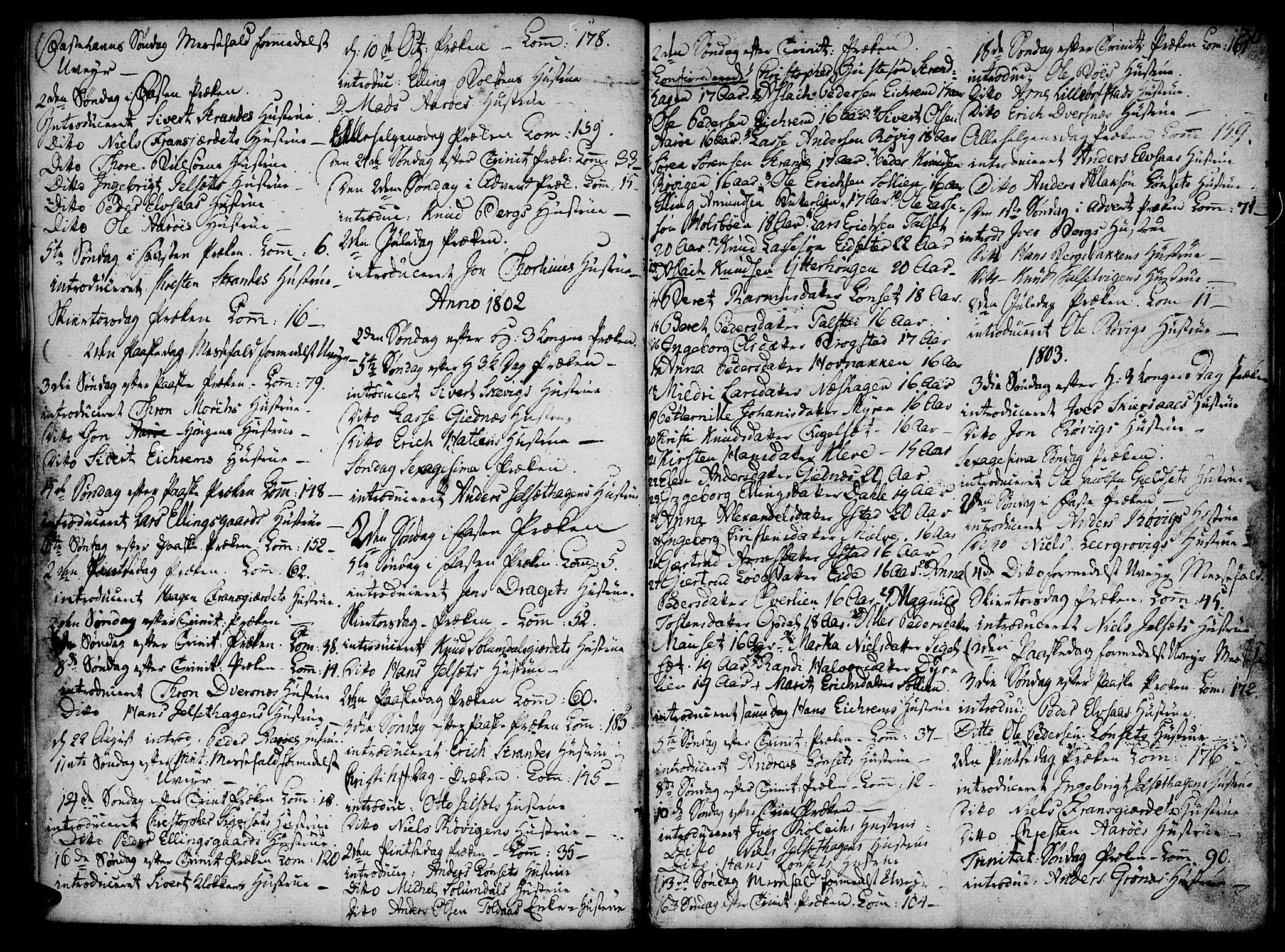 SAT, Ministerialprotokoller, klokkerbøker og fødselsregistre - Møre og Romsdal, 555/L0649: Parish register (official) no. 555A02 /1, 1795-1821, p. 30