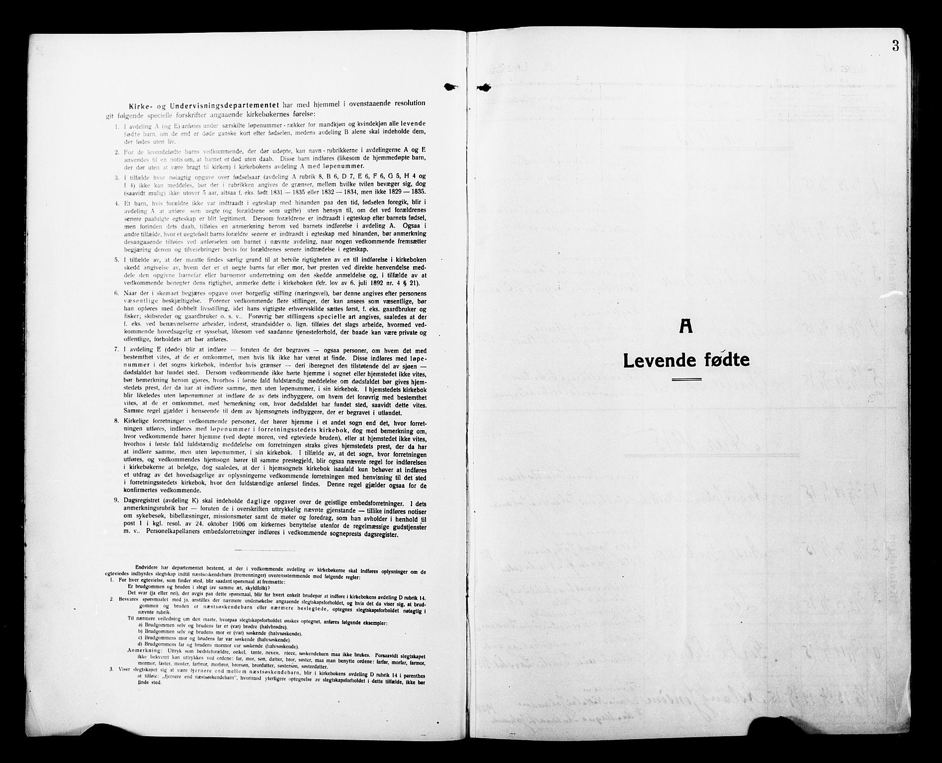SATØ, Tromsø sokneprestkontor/stiftsprosti/domprosti, G/Gb/L0009klokker: Parish register (copy) no. 9, 1915-1925, p. 3