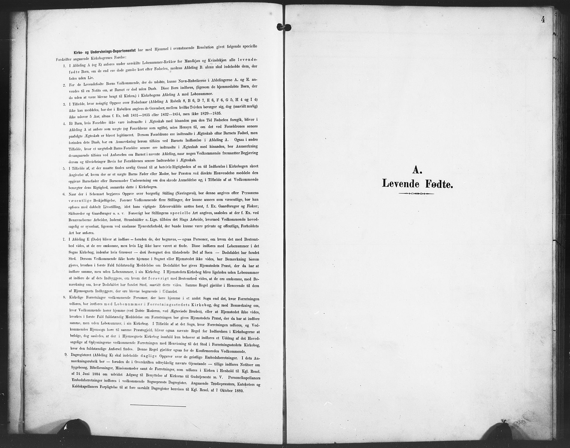 SAB, Evanger sokneprestembete*, Parish register (copy) no. A 5, 1897-1917, p. 4