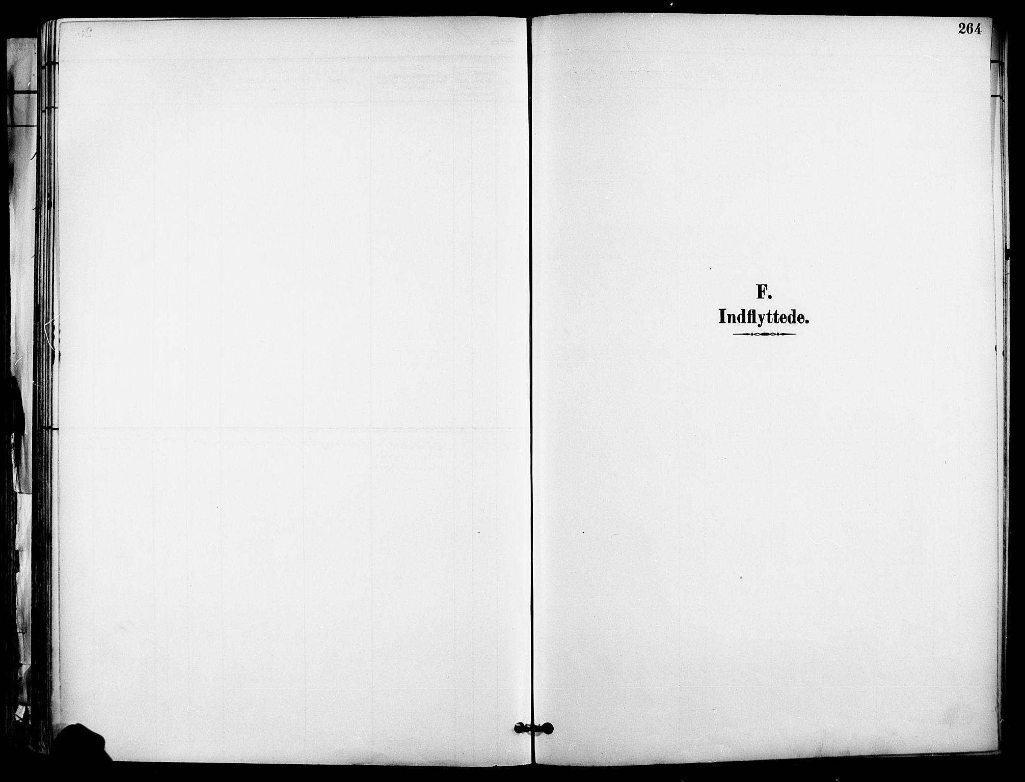 SAO, Garnisonsmenigheten Kirkebøker, F/Fa/L0013: Parish register (official) no. 13, 1894-1904, p. 264