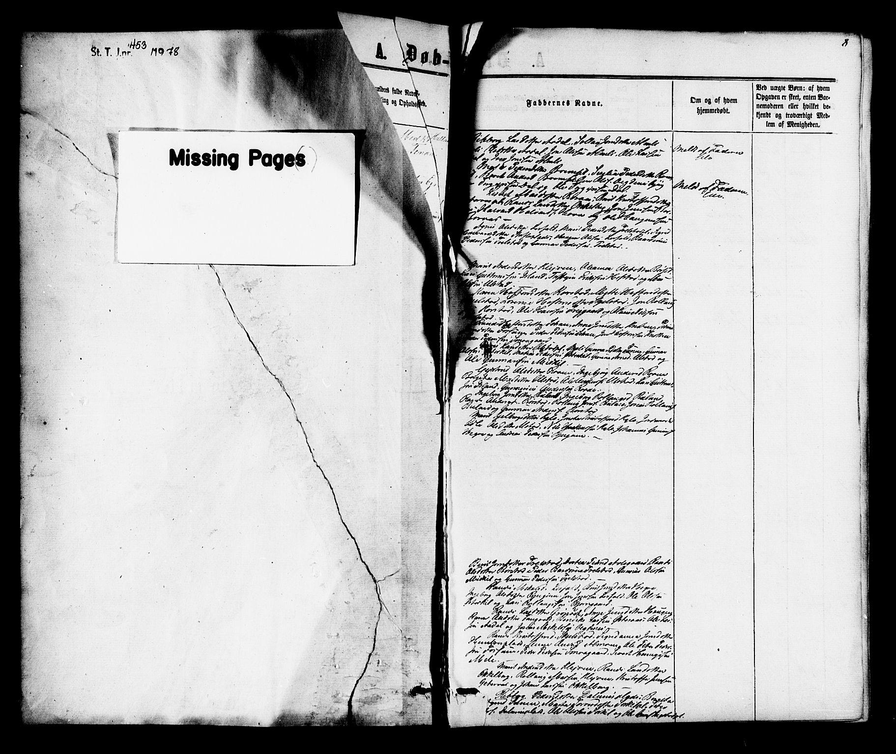 SAT, Ministerialprotokoller, klokkerbøker og fødselsregistre - Nord-Trøndelag, 703/L0038: Parish register (copy) no. 703C01, 1864-1870, p. 8