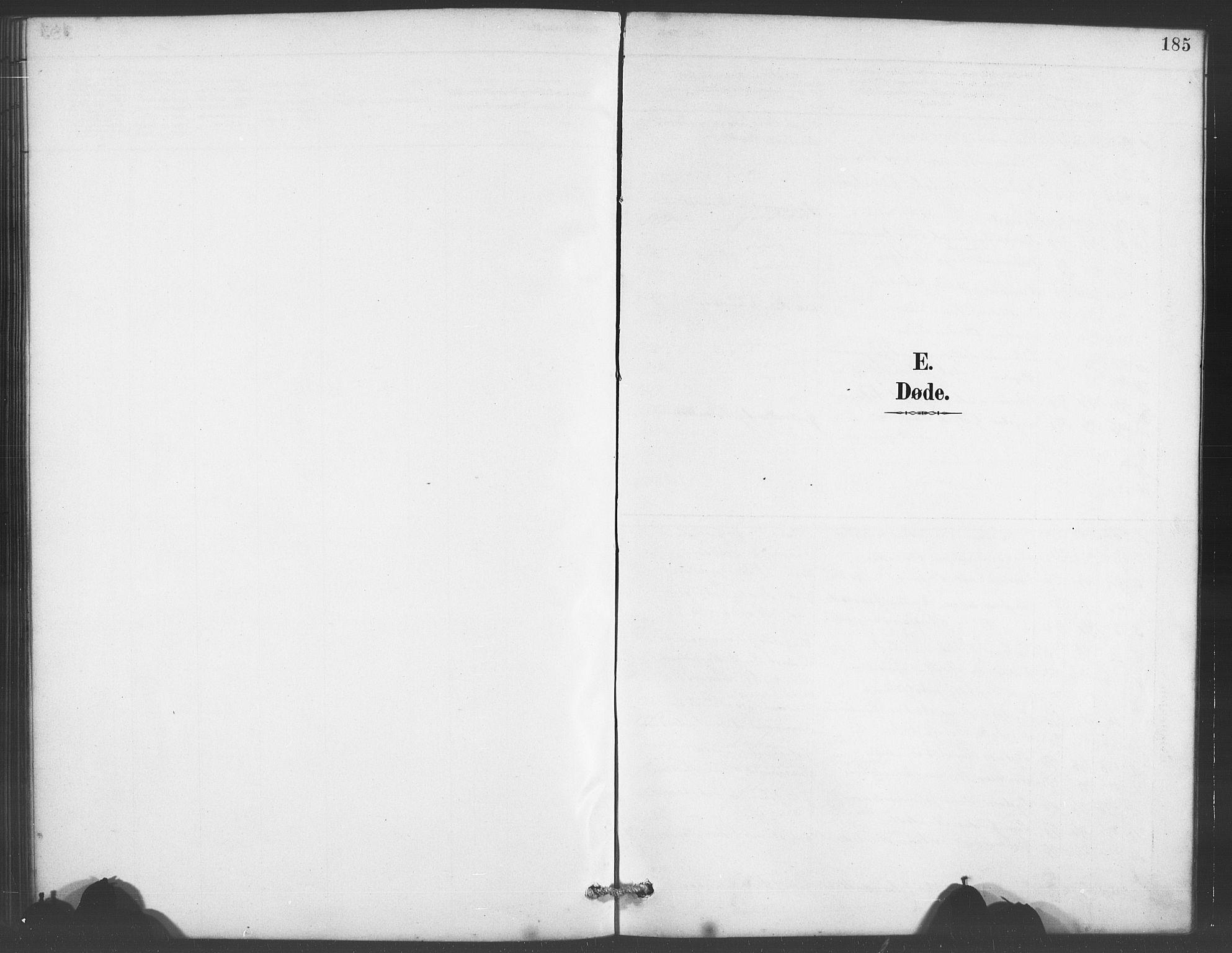 SAB, Evanger sokneprestembete*, Parish register (copy) no. A 4, 1887-1897, p. 185