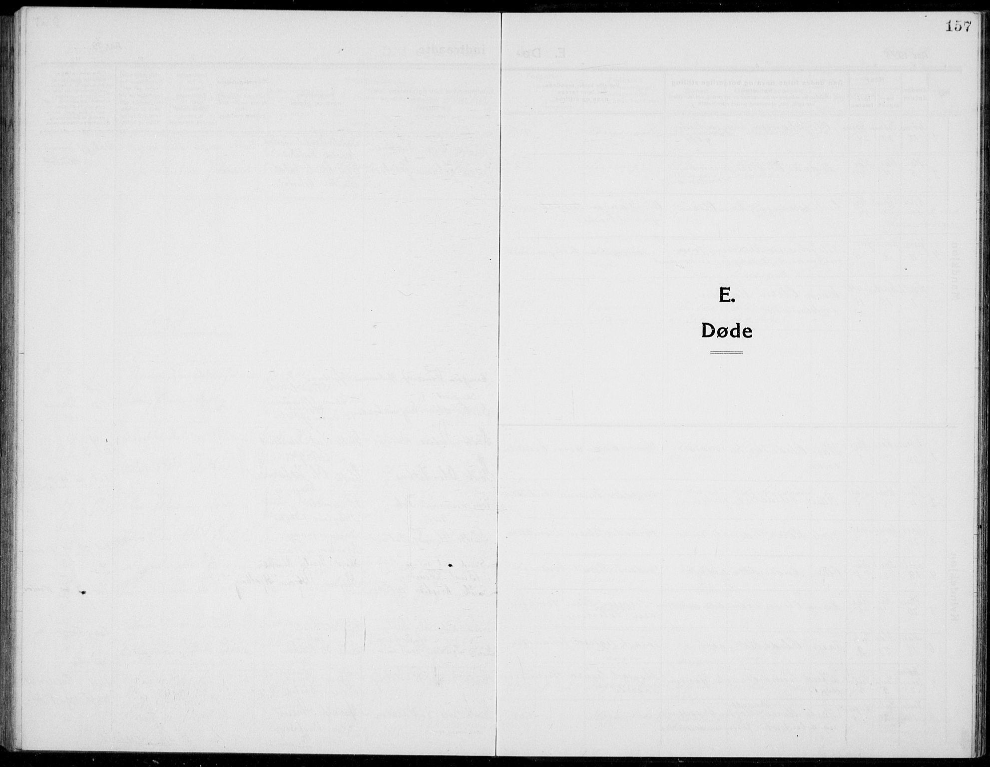 SAH, Stange prestekontor, L/L0017: Parish register (copy) no. 17, 1918-1936, p. 157