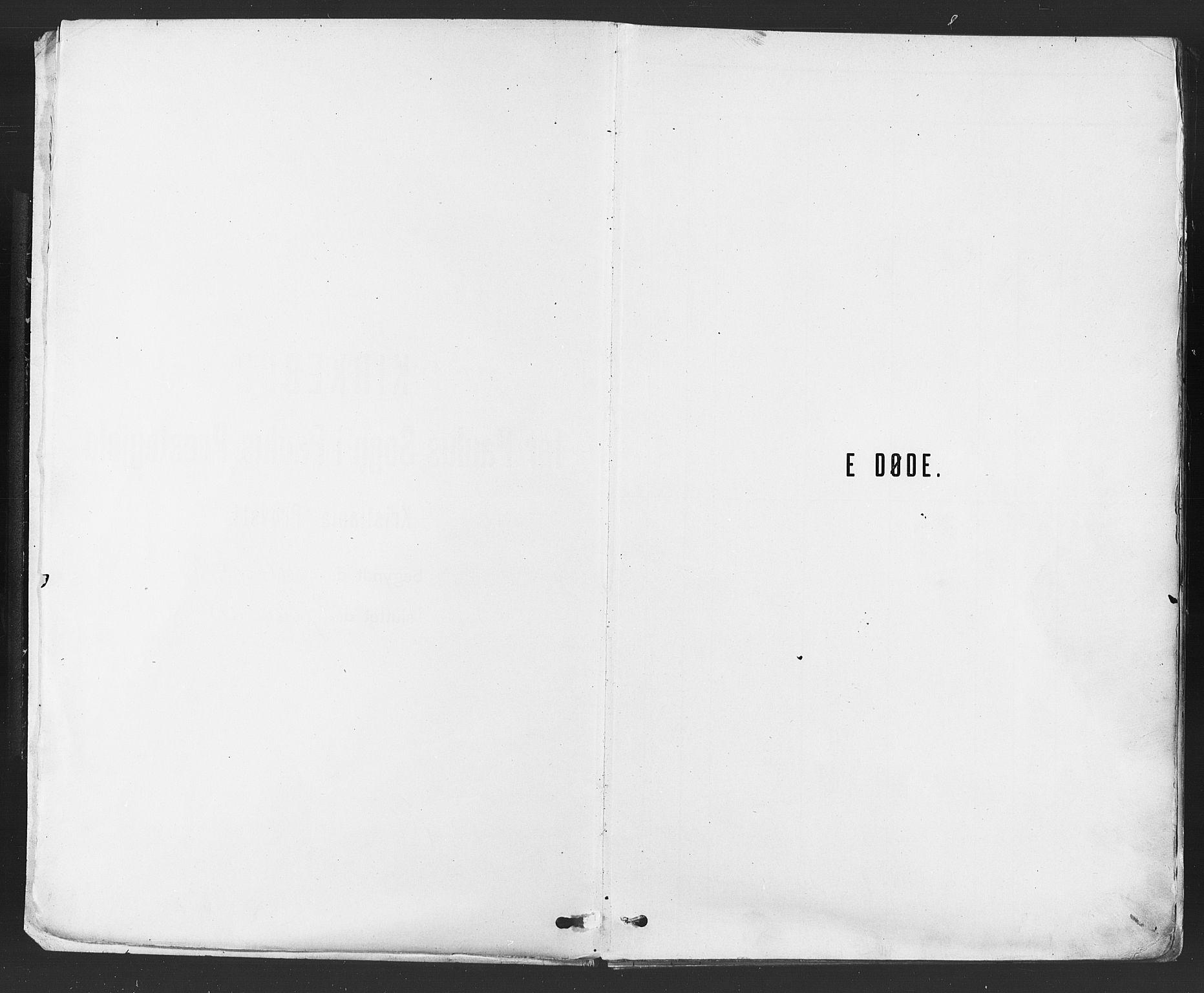 SAO, Paulus prestekontor Kirkebøker, F/Fa/L0012: Parish register (official) no. 12, 1897-1908