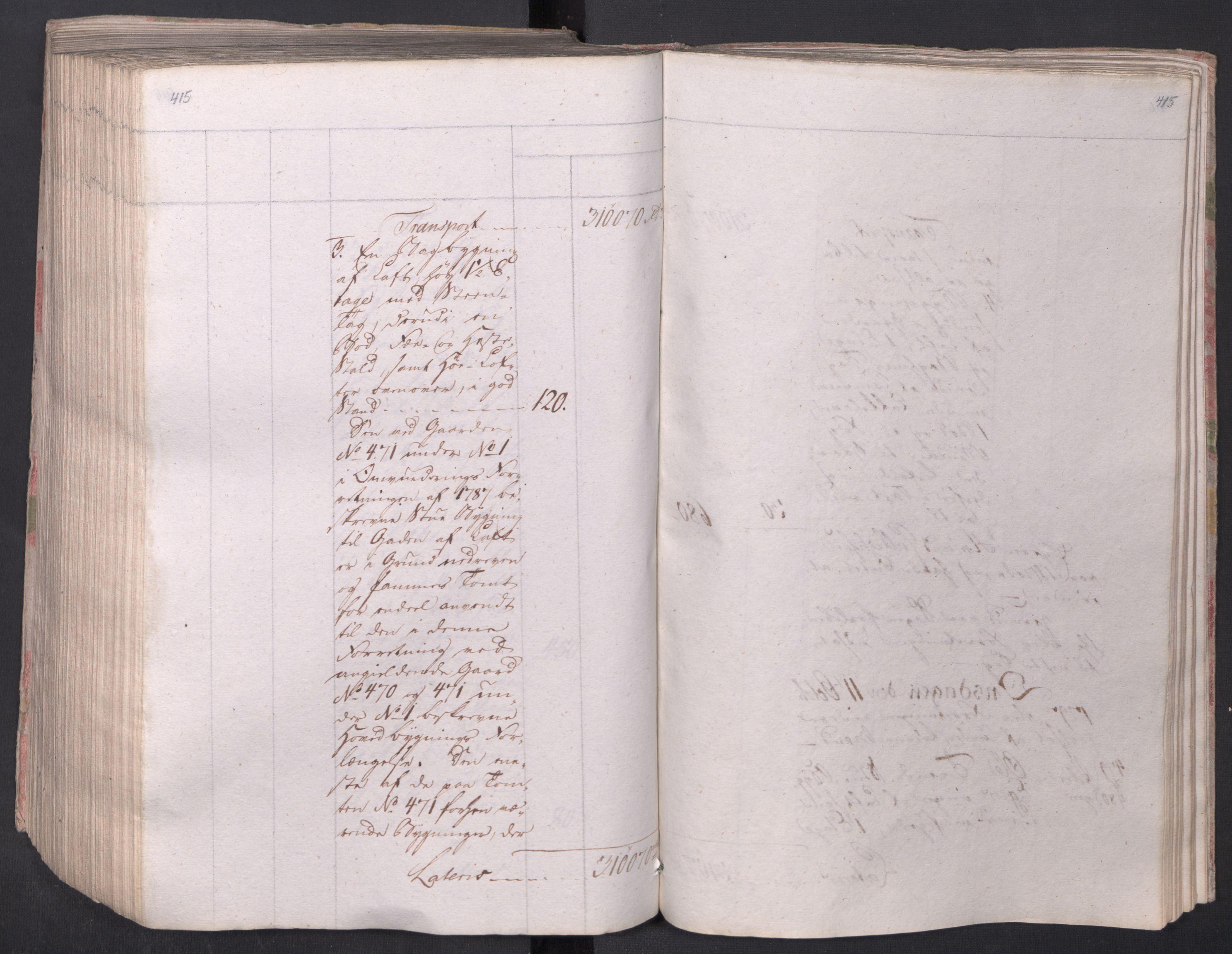 SAO, Kristiania stiftamt, I/Ia/L0015: Branntakster, 1797, p. 415